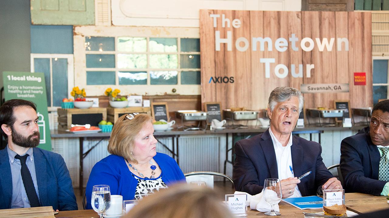 Mayor of Savannah Eddie DeLoach shares his perspective on Savannah's education system.