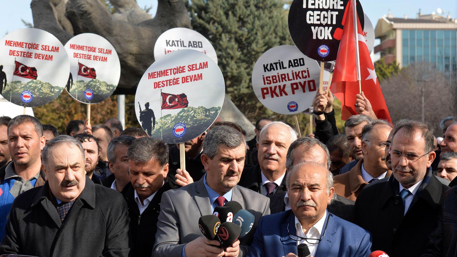 rally in Ankara