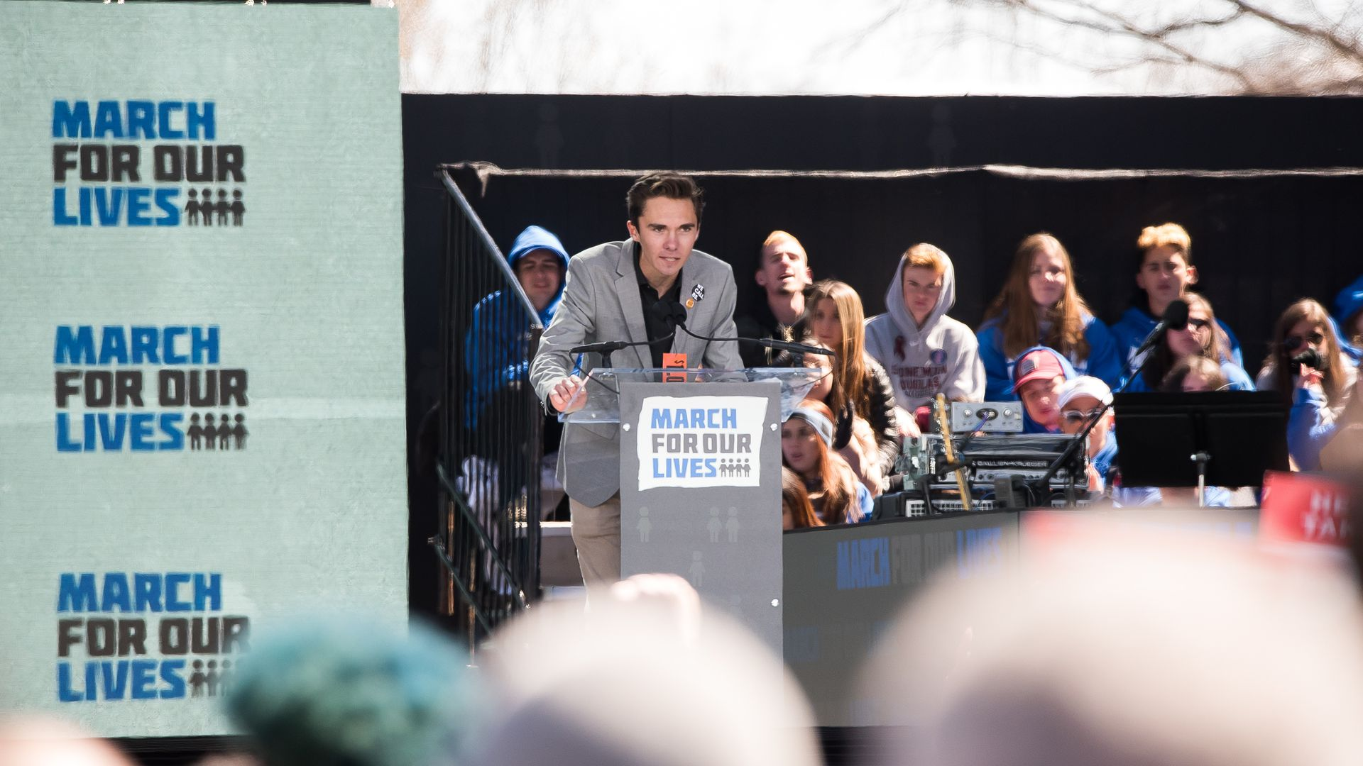 David Hogg at the March for Our Lives