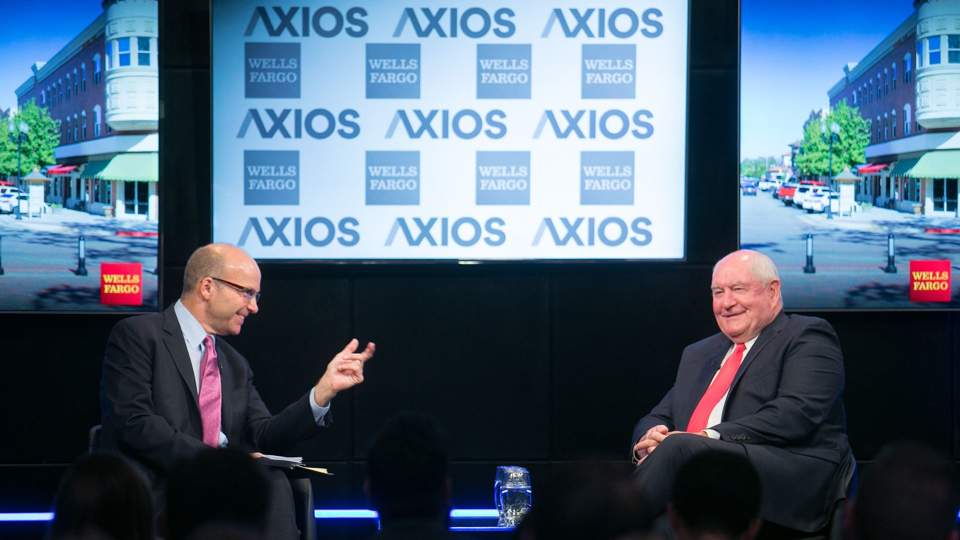 Mike Allen and Sonny Perdue