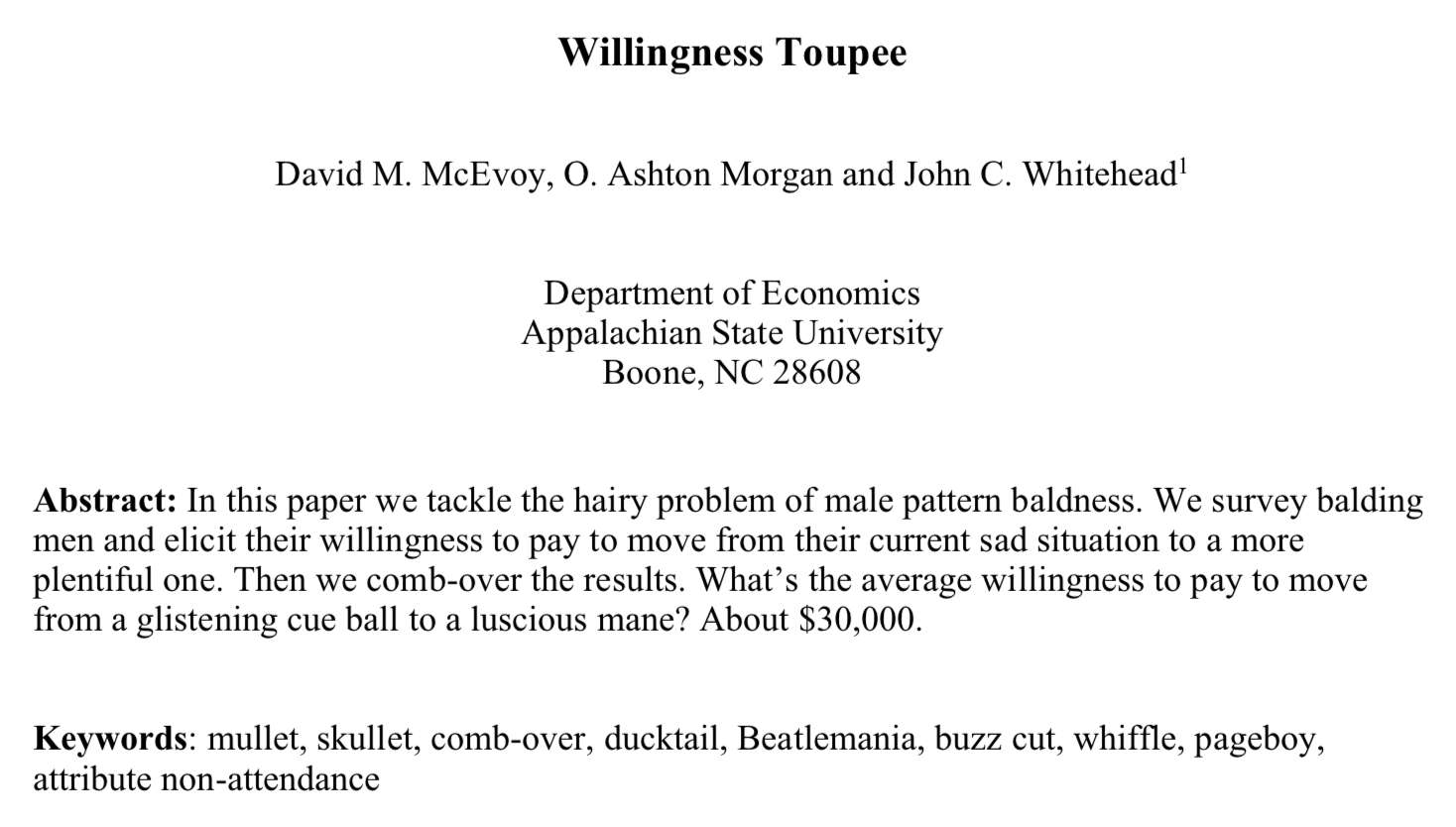 Willingness Toupee