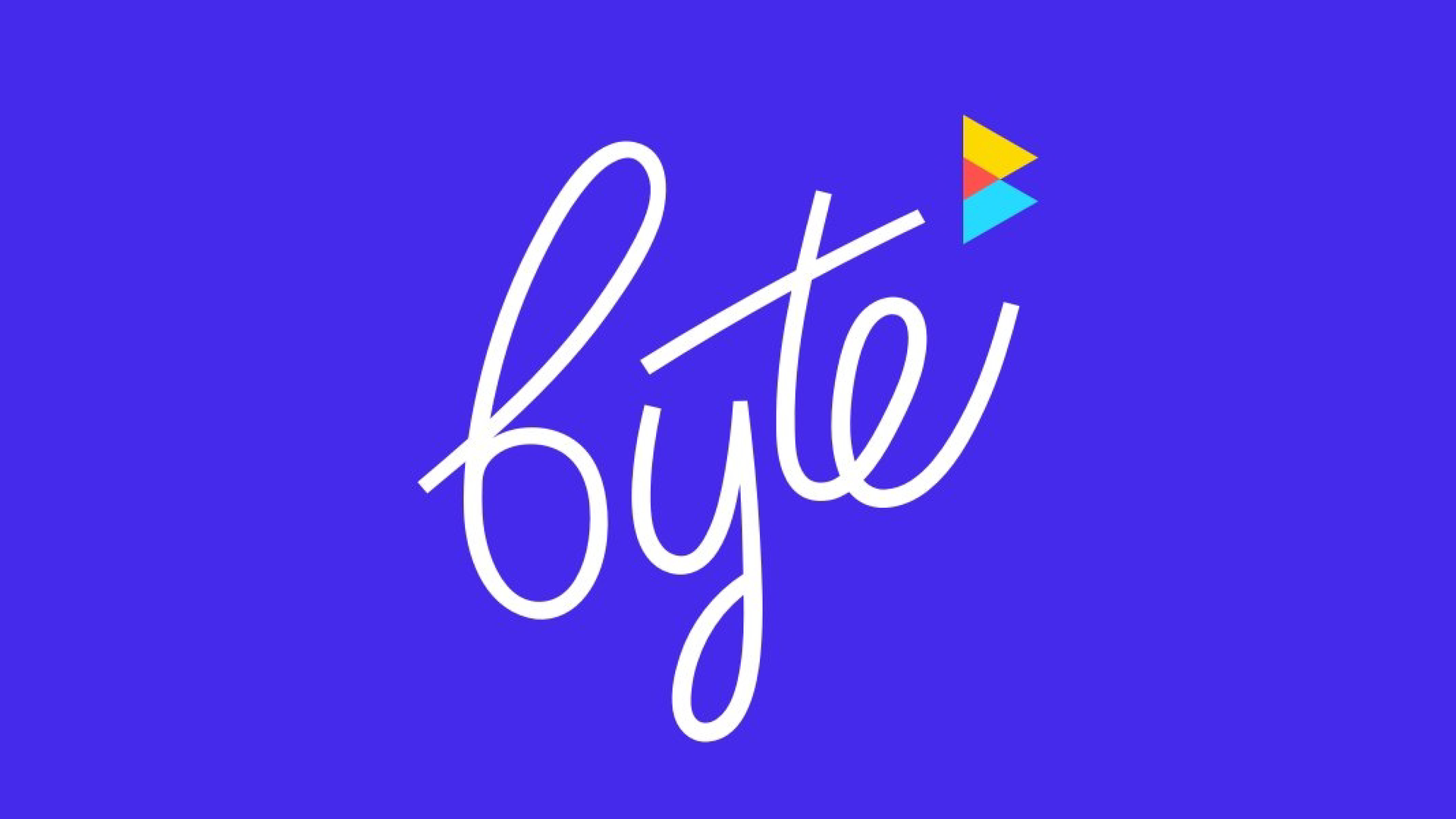 new app byte's logo.