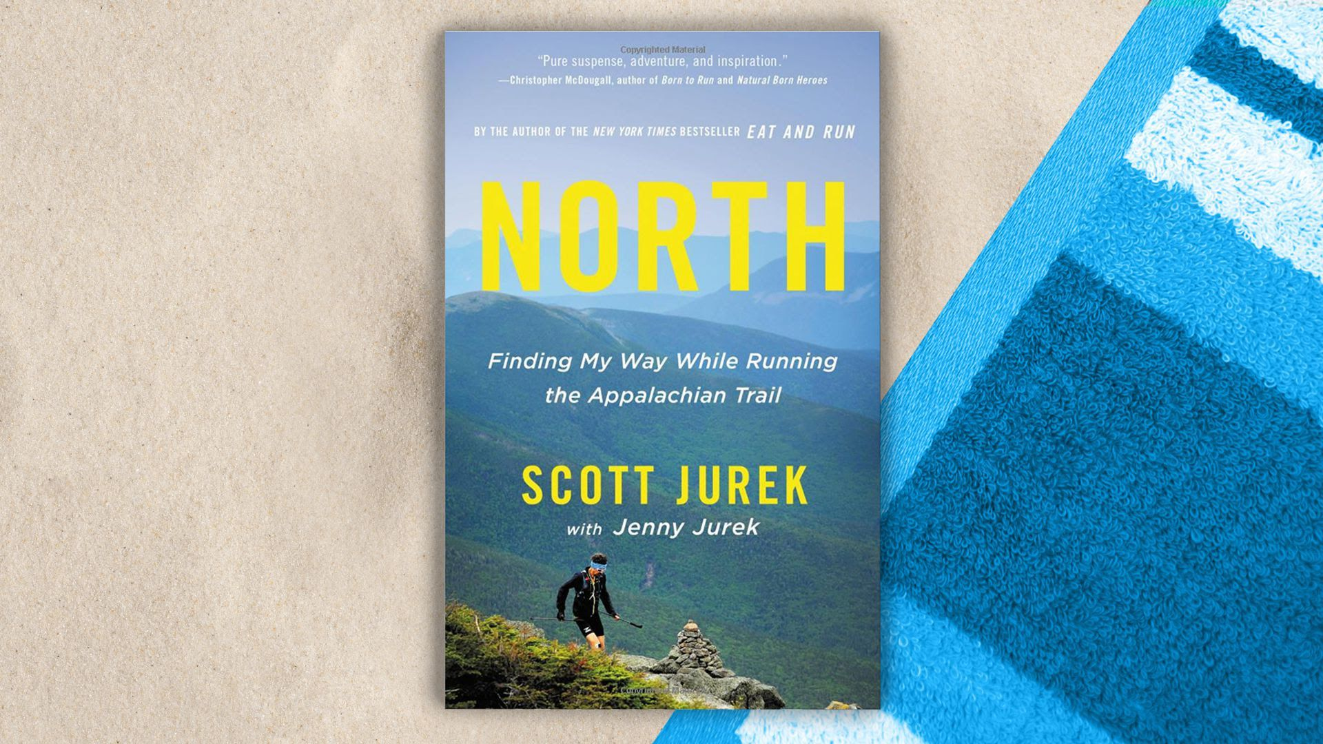 "Cover of ""North: Finding My Way While Running the Appalachian Trail"""