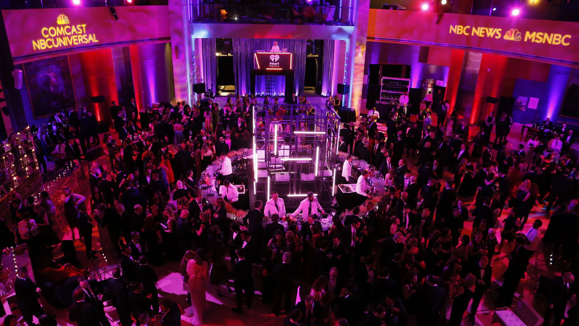"""The After Party,"" by NBC News, MSNBC and Comcast NBCUniversal, at the Italian Embassy (Photo: NBC News)"