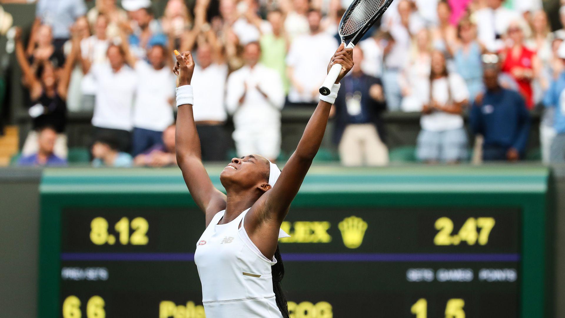 2cc1f08bf Why U.S. tennis player Cori 'Coco' Gauff, 15, is the talk of Wimbledon