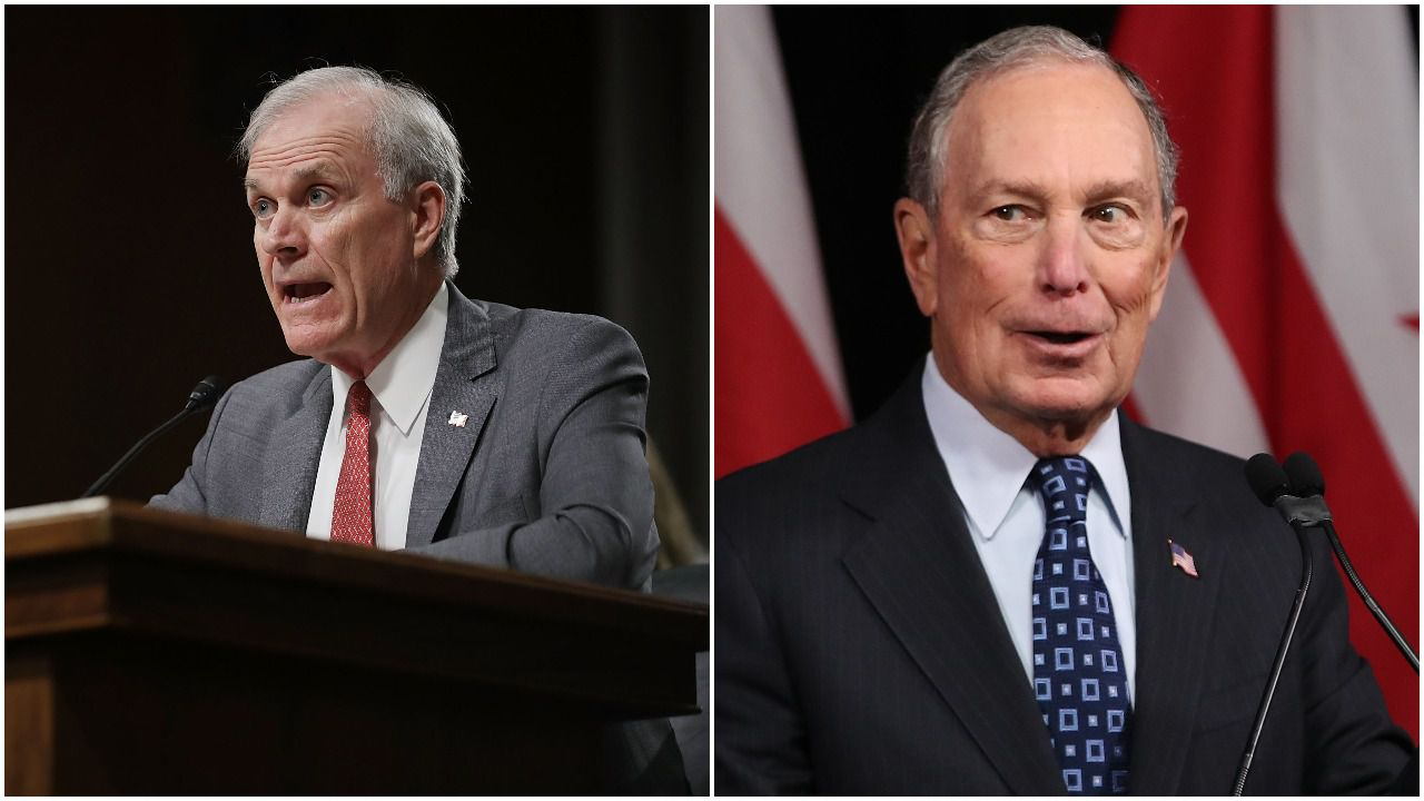 Trump's former Navy secretary endorses Mike Bloomberg - Axios