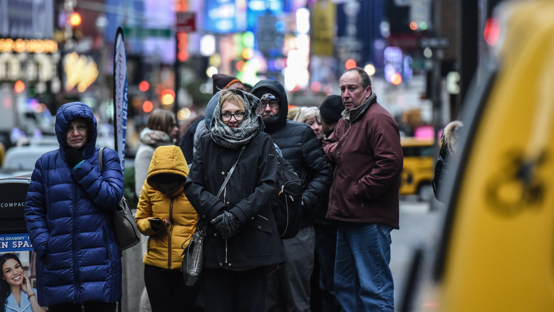 New Yorkers feeling the cold from the Arctic blast