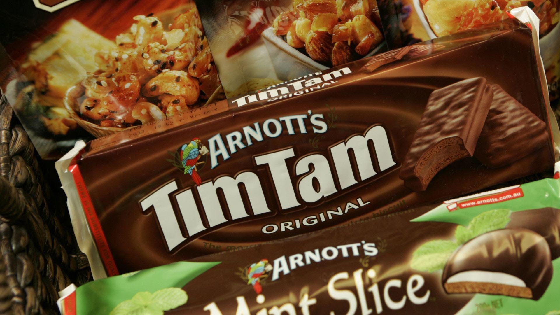 Arnott's TimTam snack