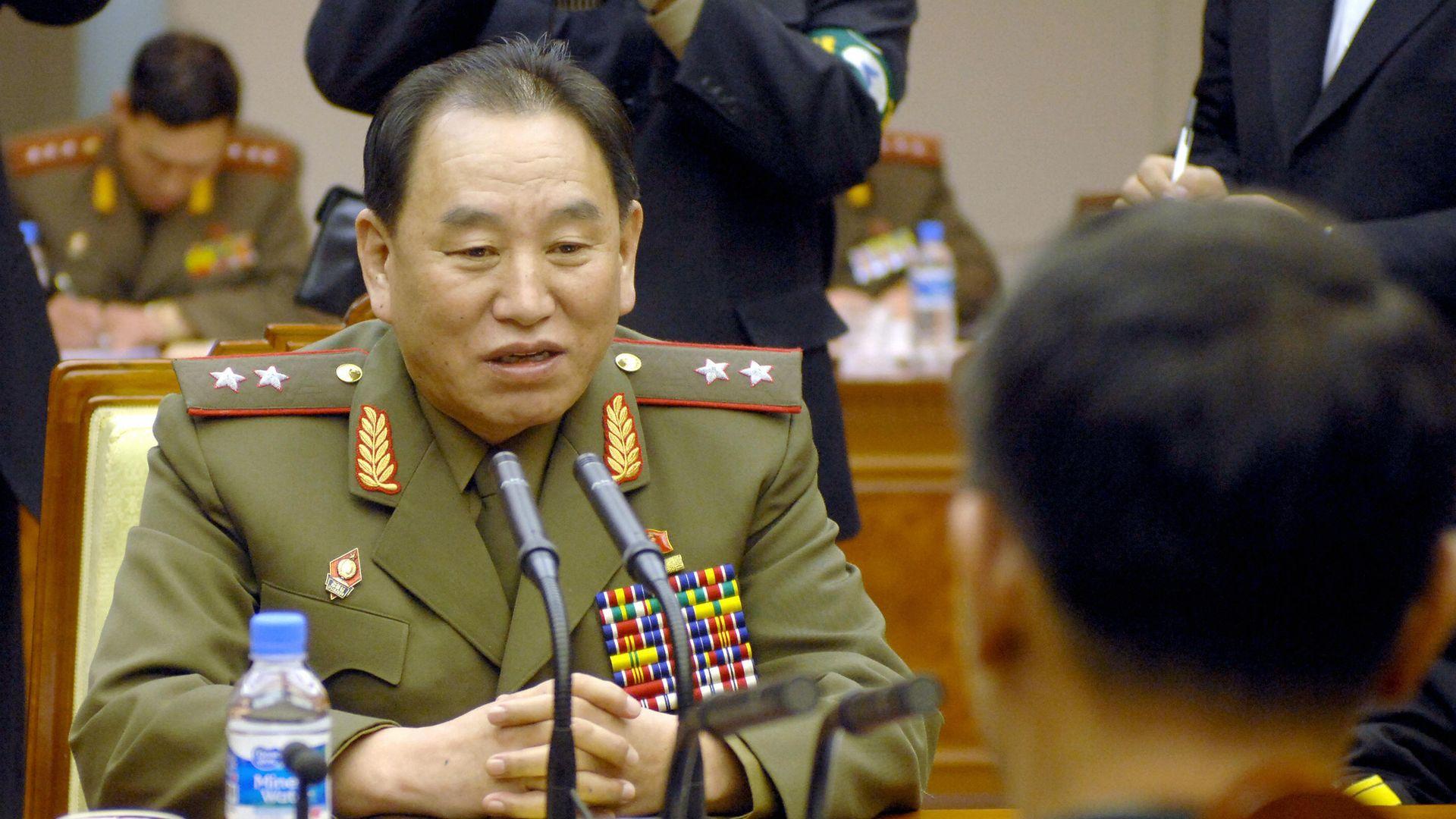 General Kimg Yong-chol