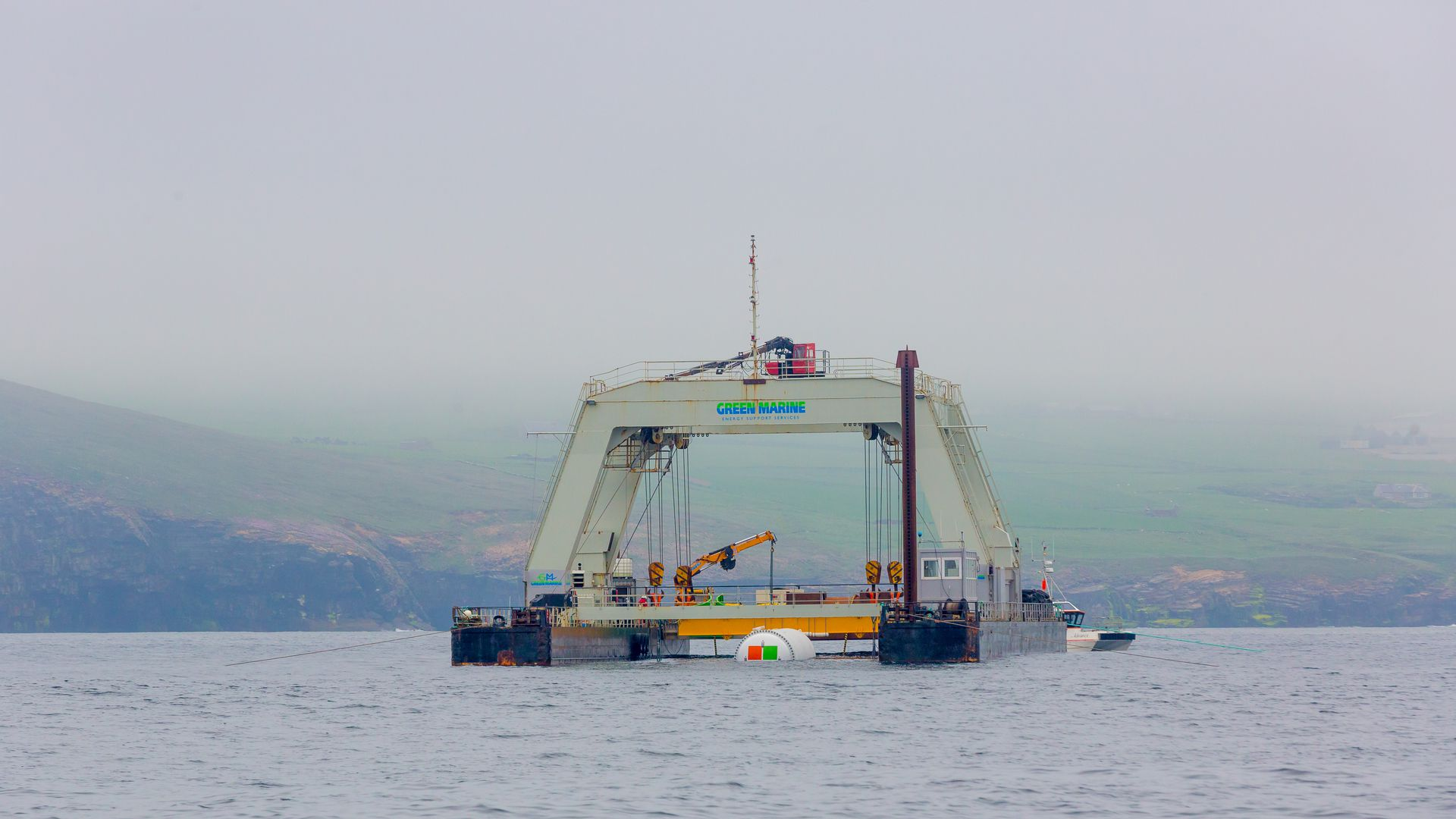 undersea data center being deployed