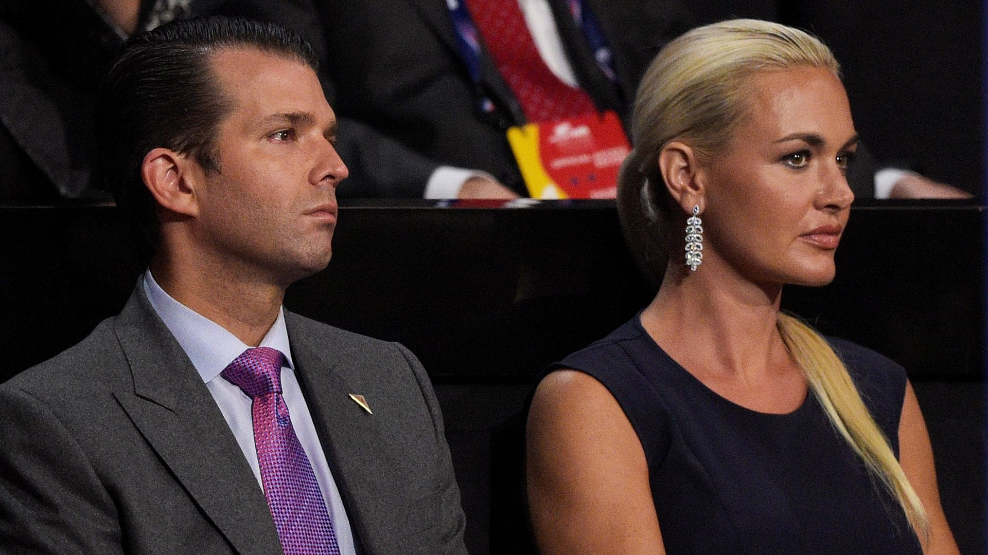 Donald Trump Jr. and his wife Vanessa