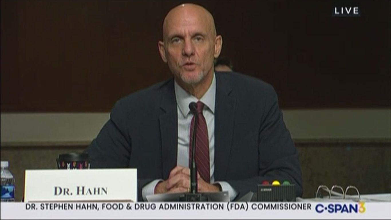 FDA chief vows agency will not accept political pressure on coronavirus vaccine