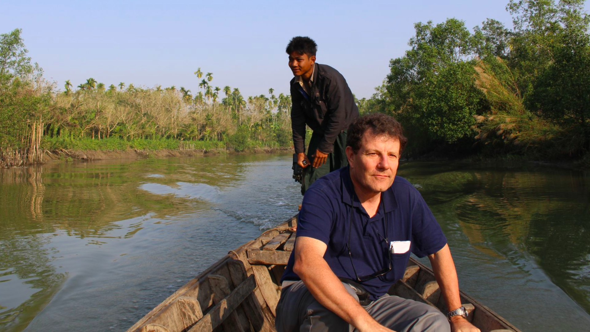 Kristof in Myanmar