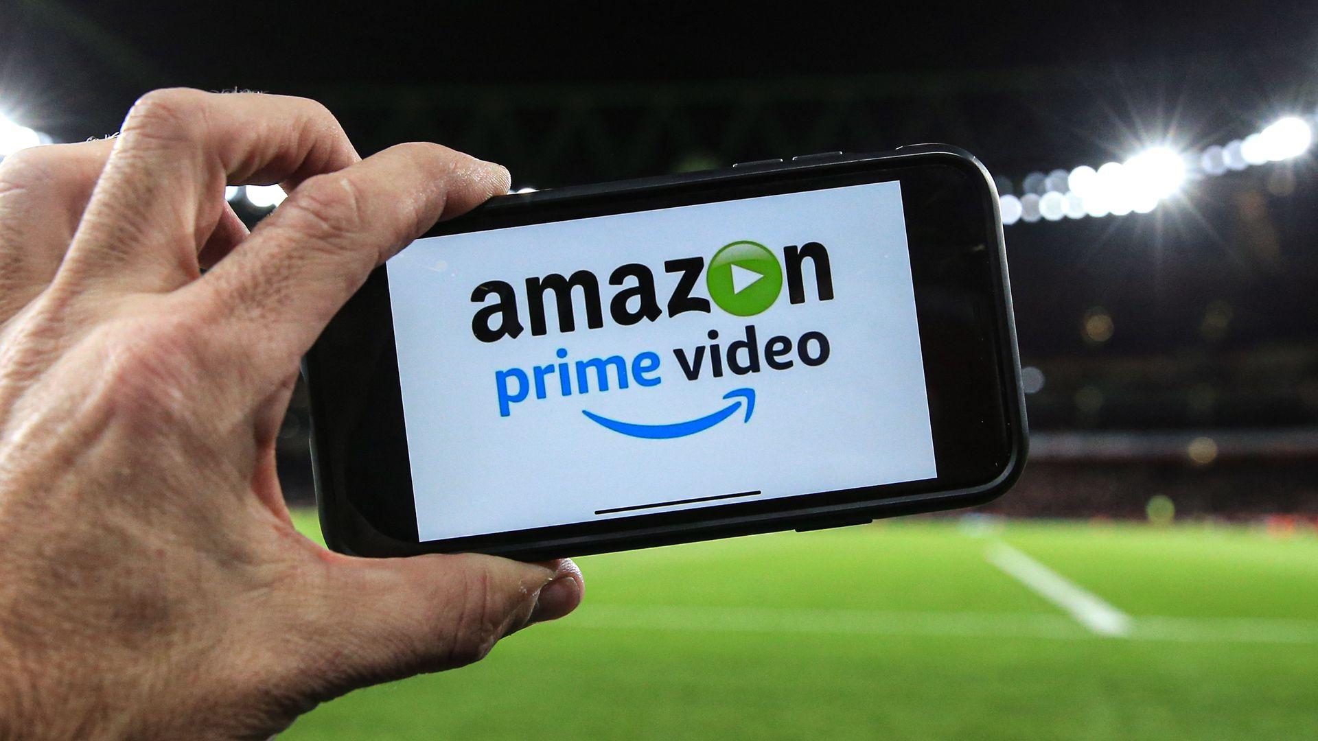 Amazon Prime showing the match live via the internet during the Premier League