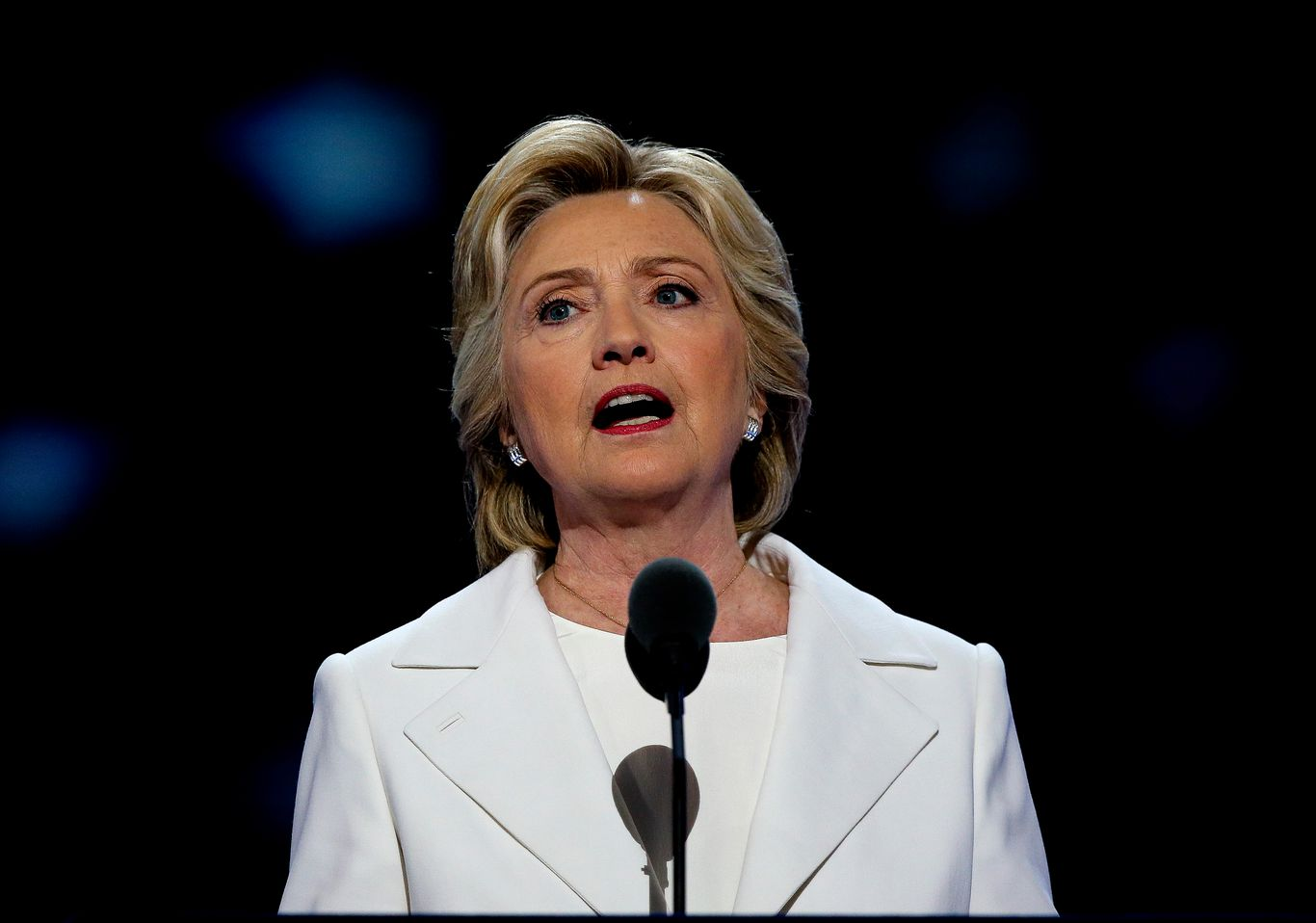"""Hillary Clinton to DNC: """"Vote like our lives and livelihoods are on the line"""" thumbnail"""