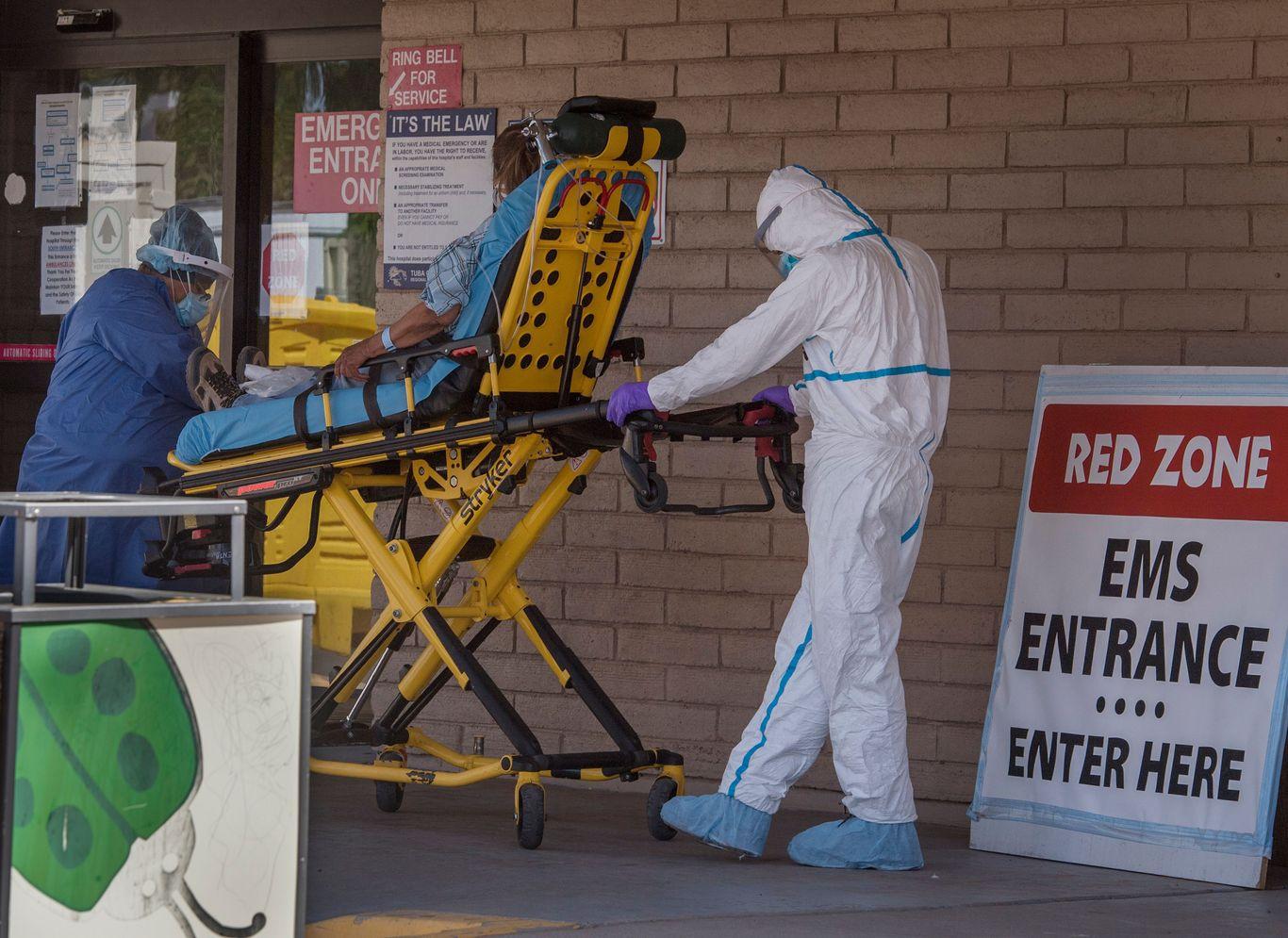 Arizona announces coronavirus triage plan amid surging cases thumbnail