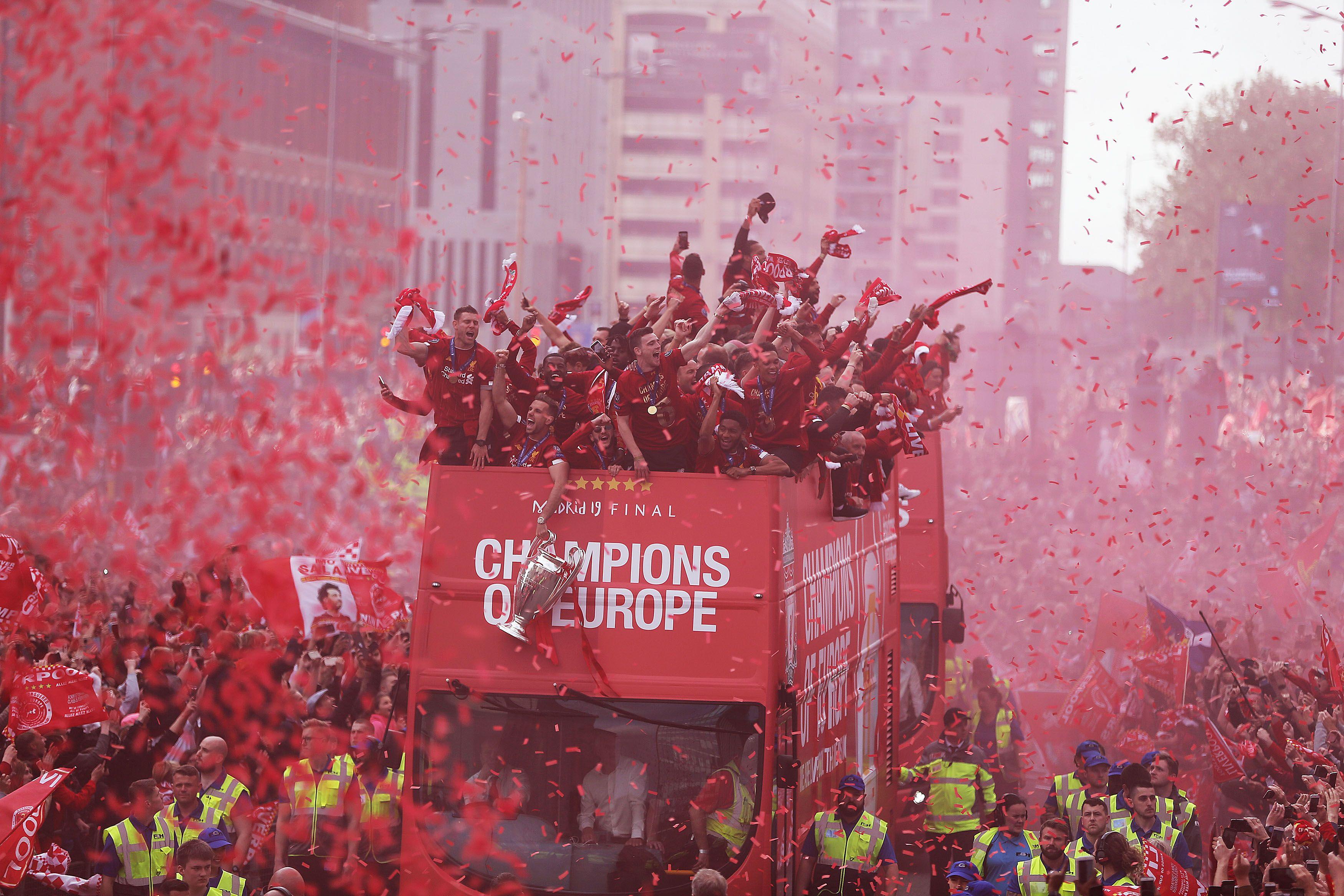 Liverpool championship bus