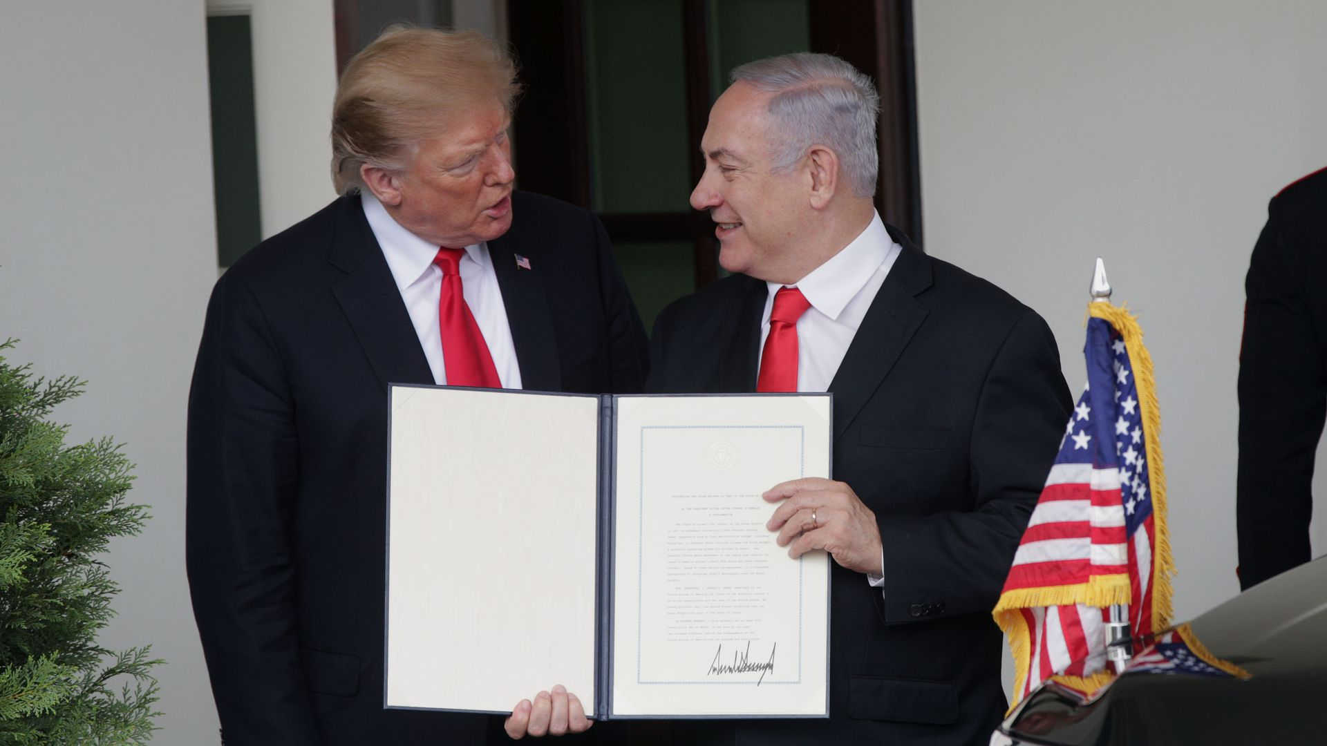 """You are great!"": Trump sends Netanyahu birthday letter after coalition failure"