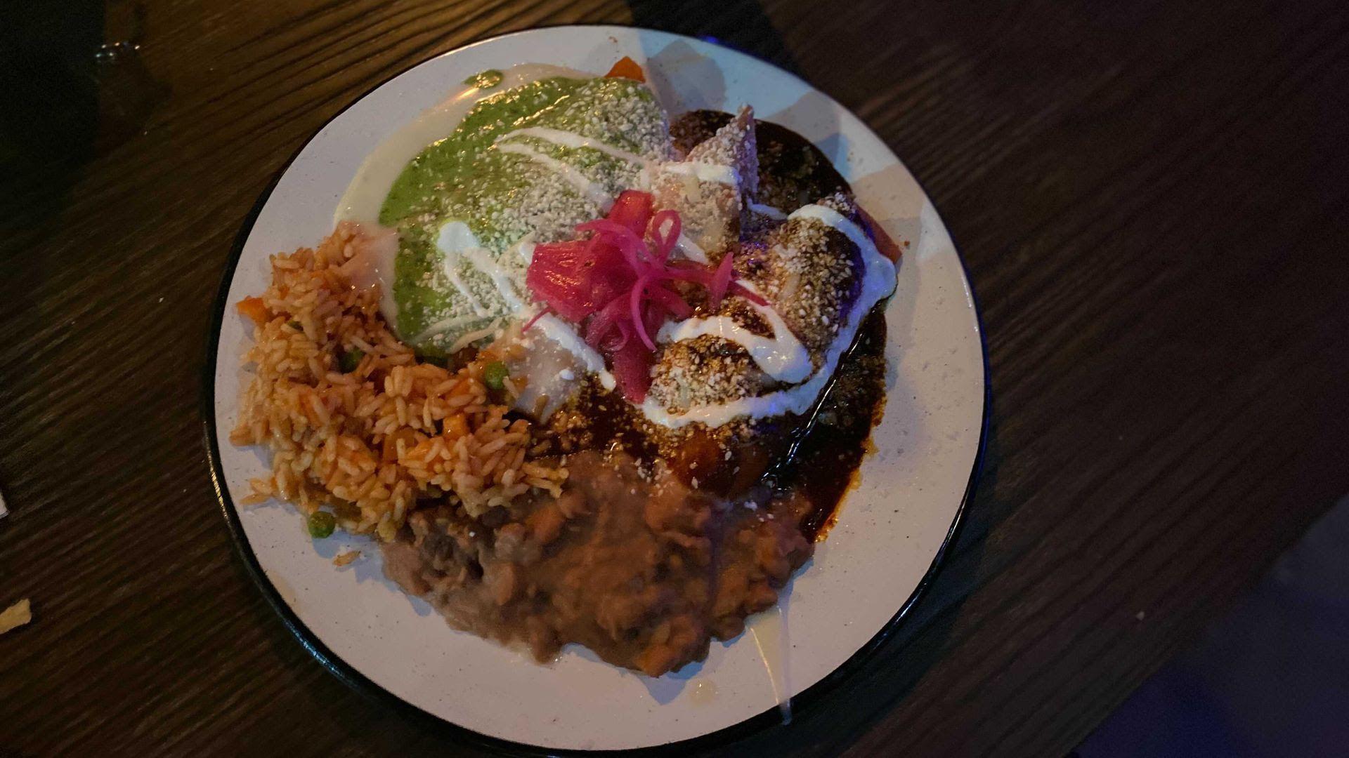 Tamales from Catrina's Tacos.