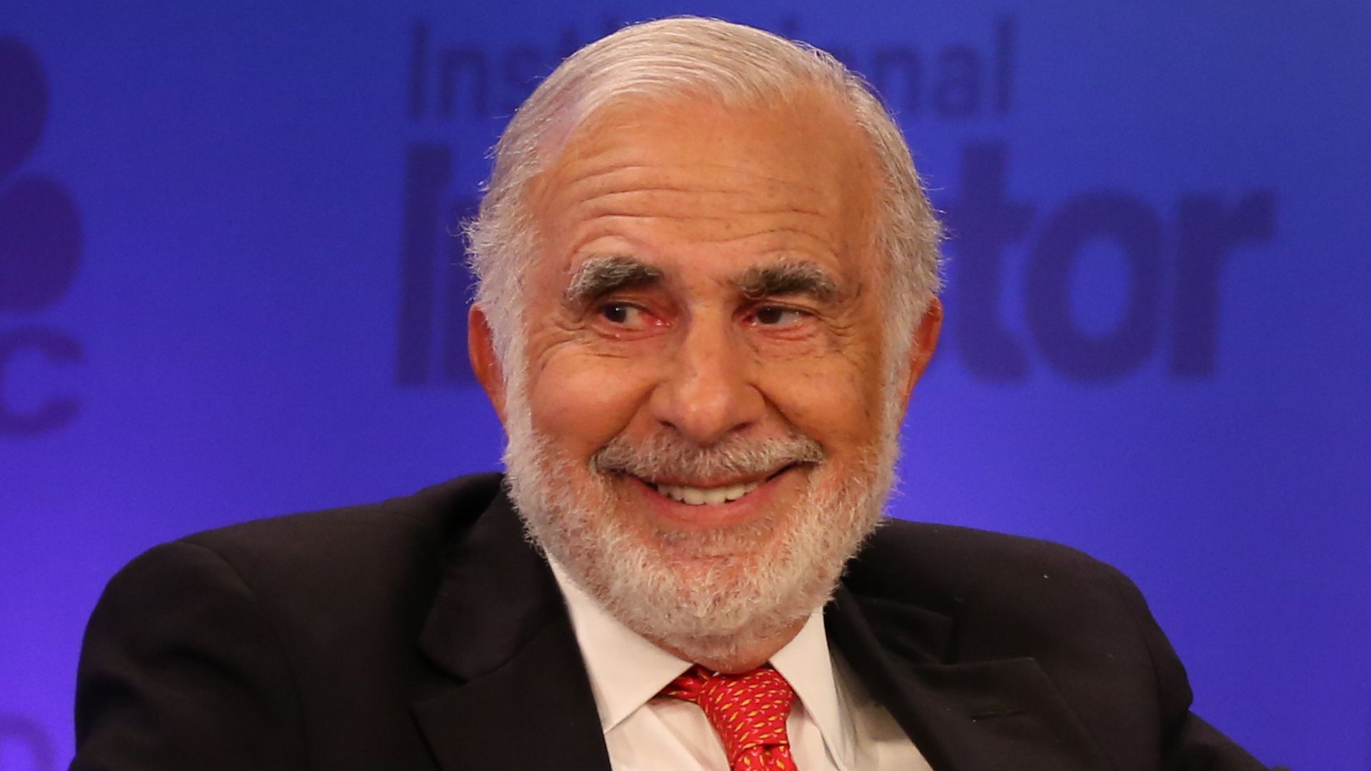 Carl Icahn at a CNBC conference.