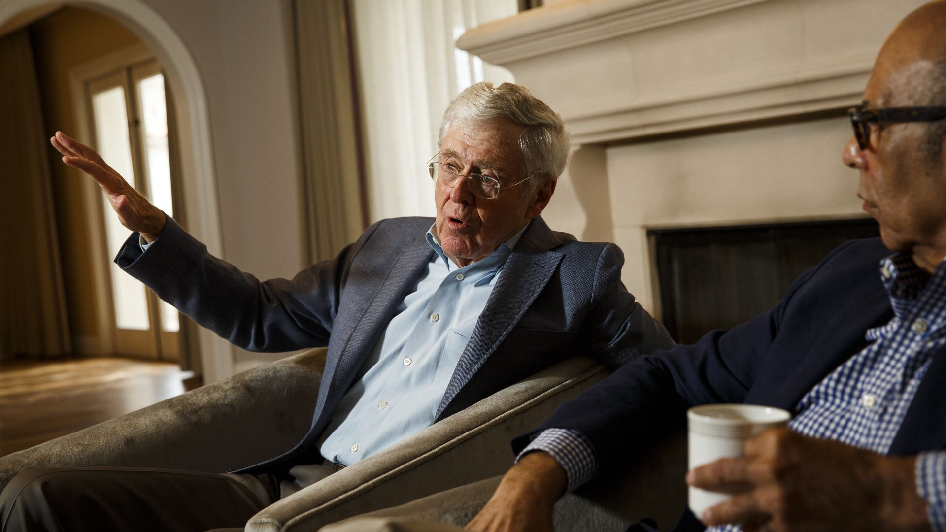 Charles Koch. Photo: Patrick T. Fallon for The Washington Post via Getty Images