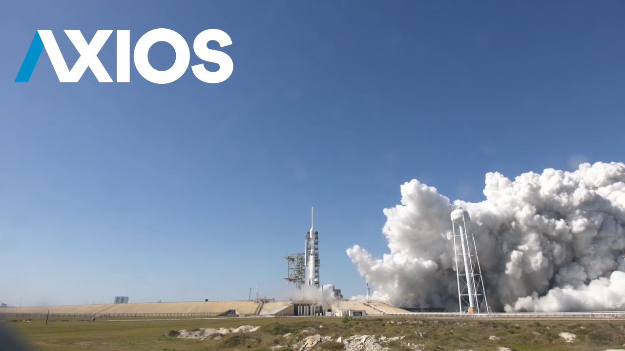 Axios video about rockets and Elon Musk