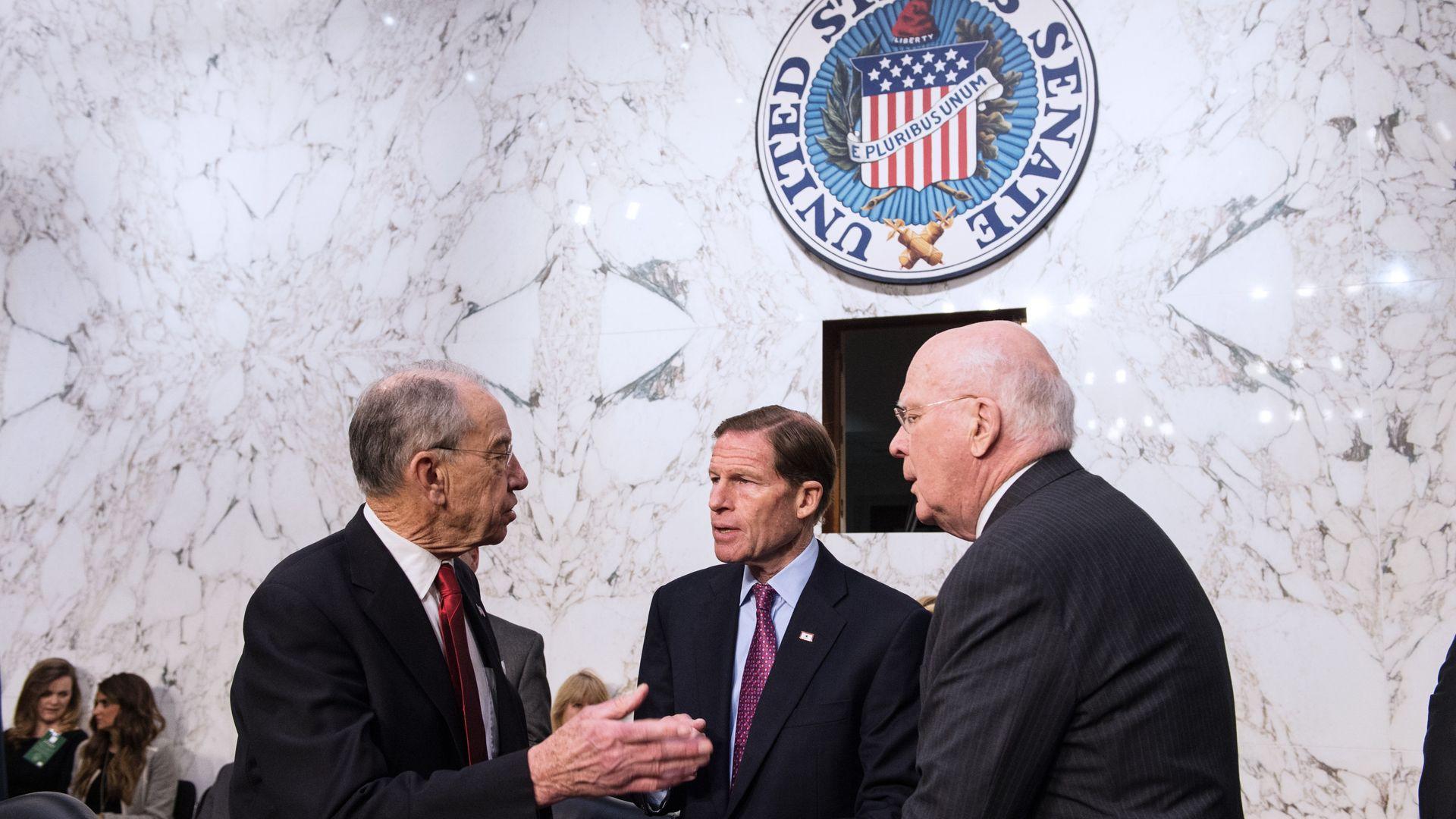 Senators Want Answers On Idea Website >> Senators Want Answers From Fbi And White House On Security