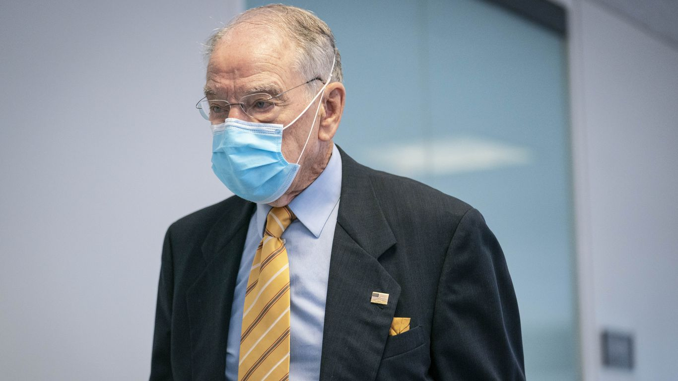 Chuck Grassley returns to Senate after recovering from COVID-19
