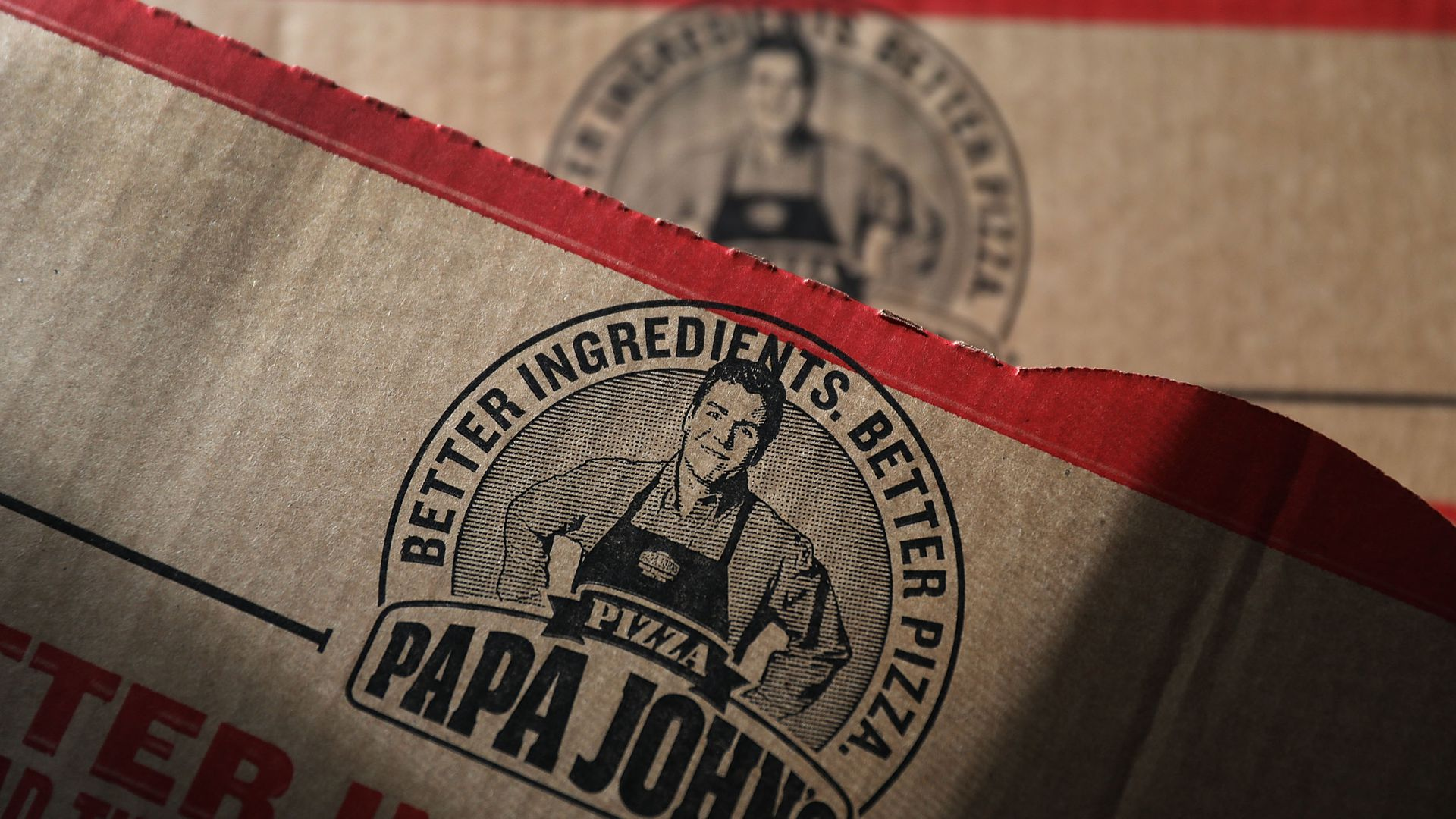 Papa John's pizza boxes