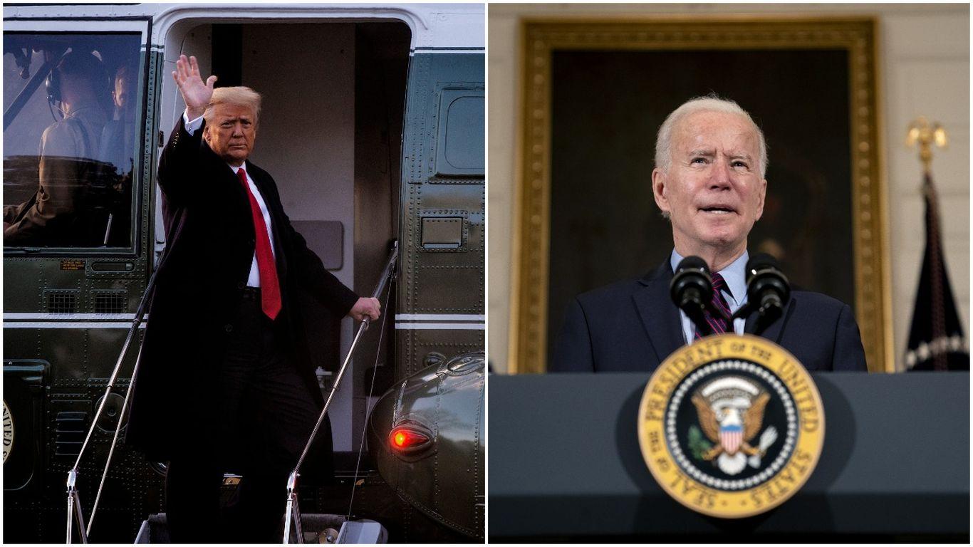 "Biden says Trump should not receive intelligence briefings due to his ""erratic behavior"" thumbnail"