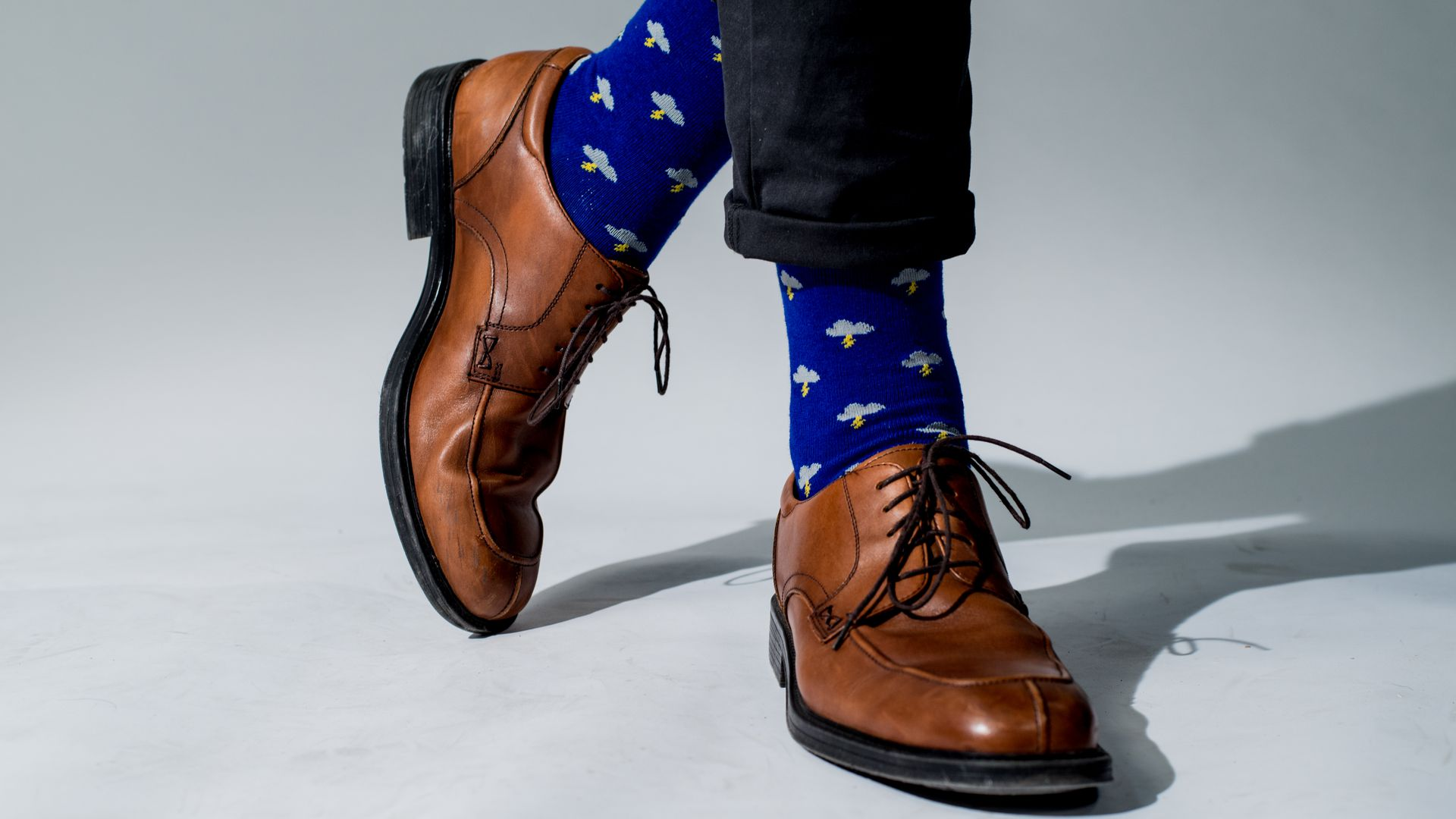35cf6231ddd The charity and politics of flashy socks - Axios