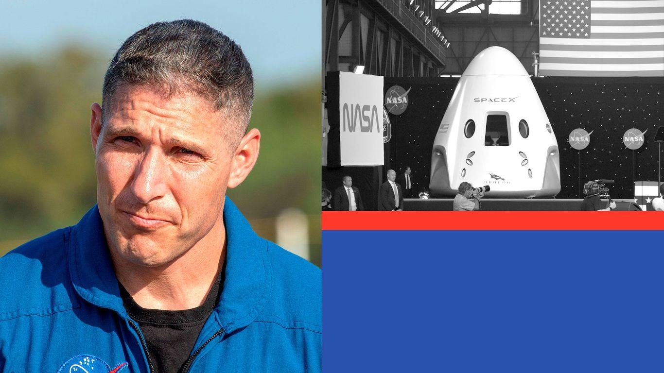 NASA astronaut Mike Hopkins on his return to space