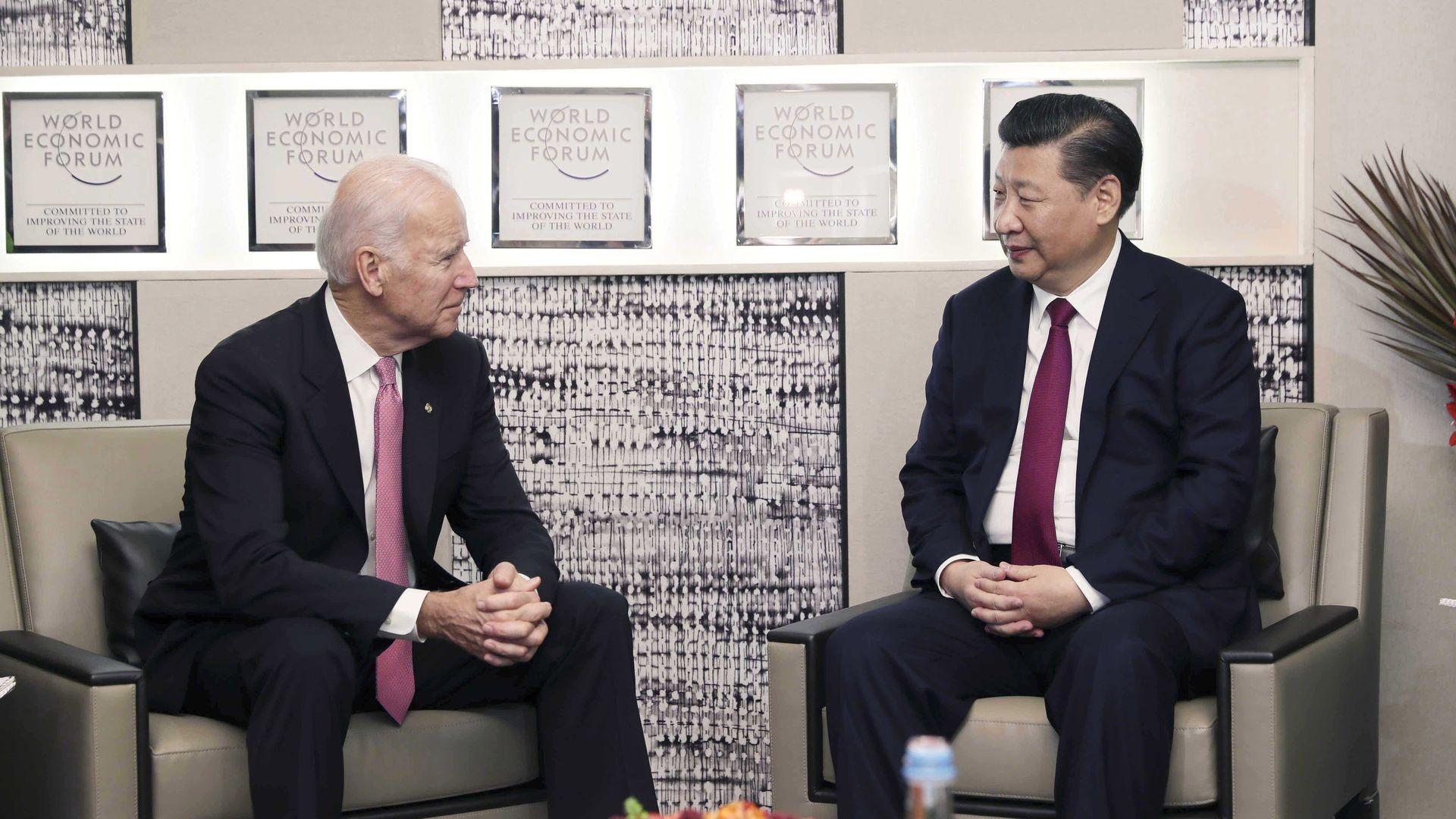 Biden and Xi