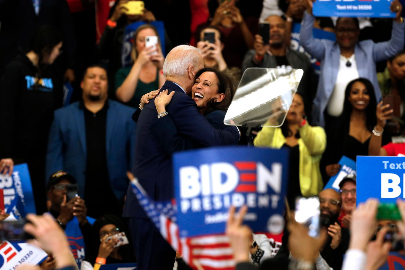 """I am ecstatic"": Democrats reacts to Biden tapping Kamala Harris as running mate thumbnail"