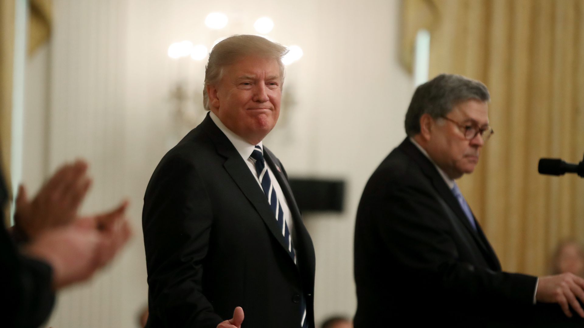 Trump and Bill Barr