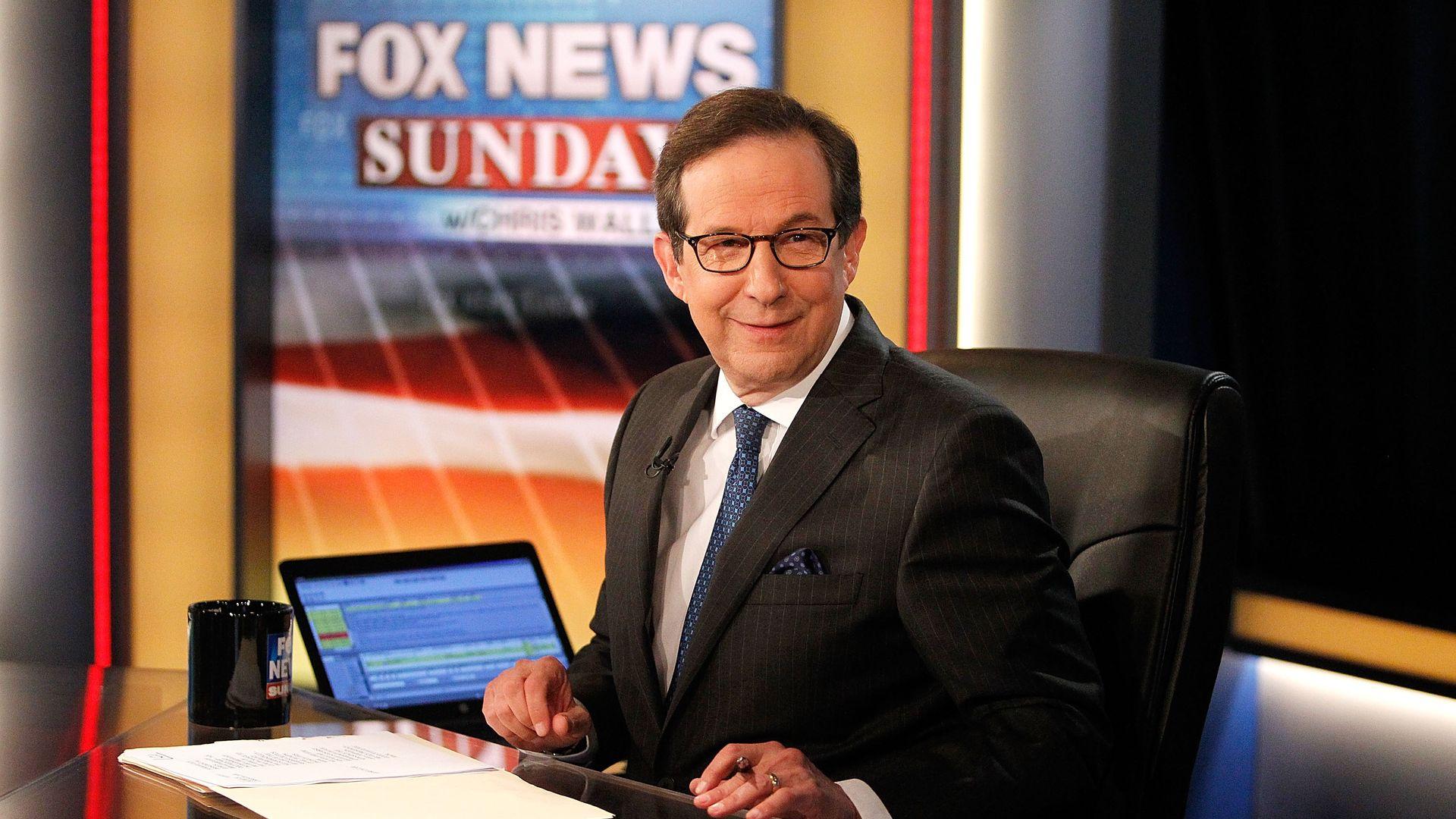 Chris Wallace, Fox News host.