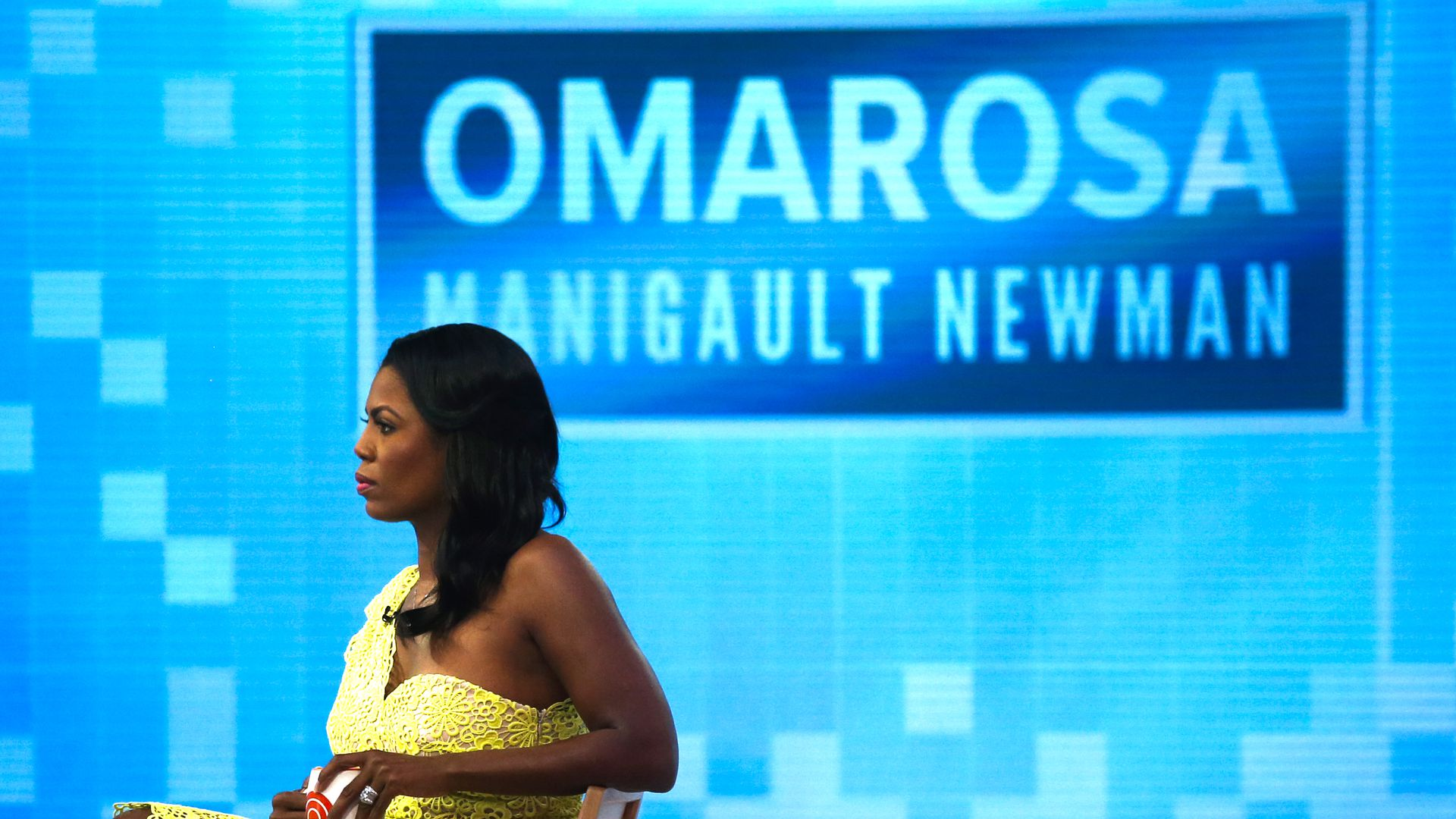 Omarosa Manigualt-Newma, former Trump aide. Photo: Eduardo Munoz Alvarez/Getty Images