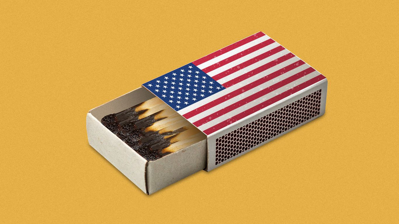 United States of burnout