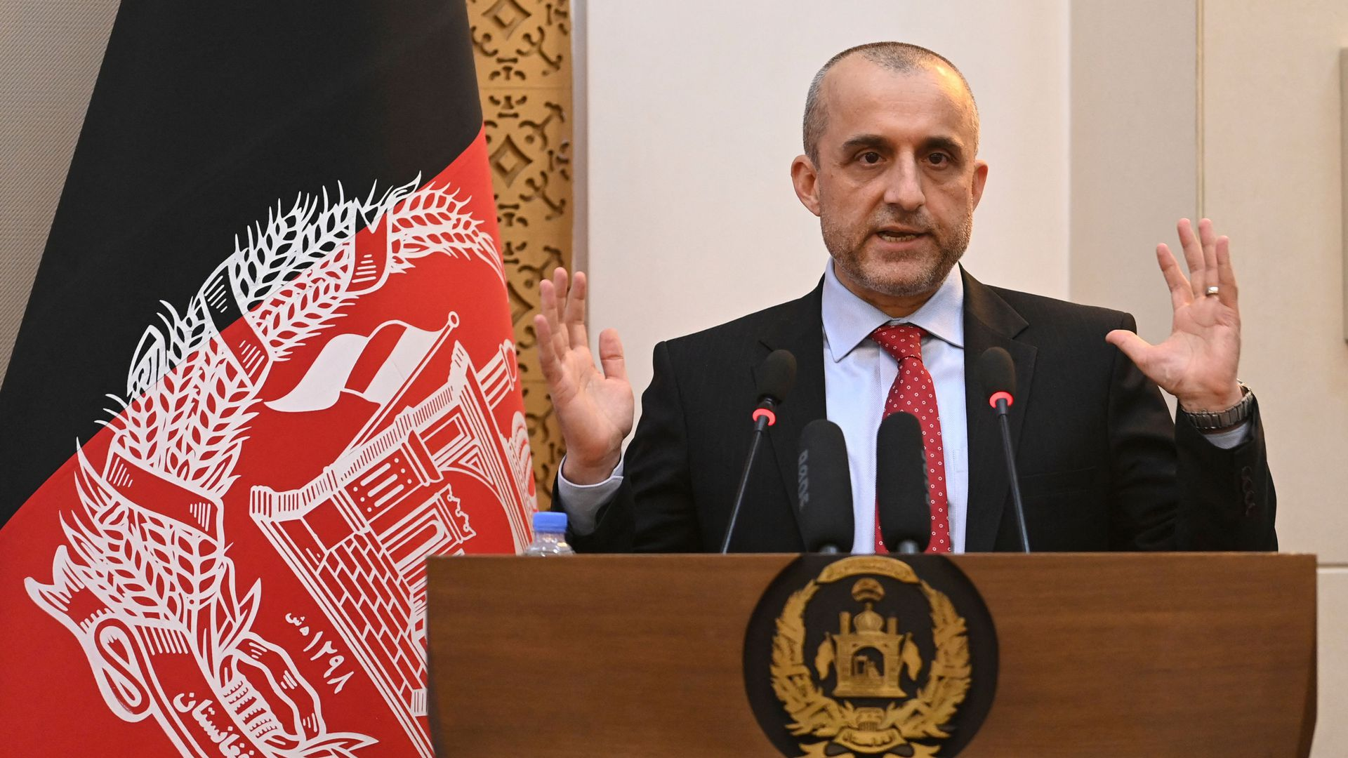 Afghanistan political leaders flee to the last holdout against the Taliban, form alliance