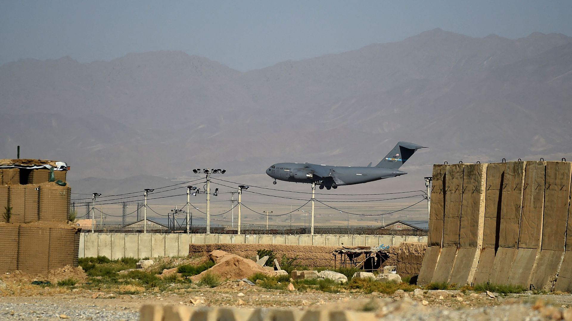 U.S. forces leave Bagram Air Base in Afghanistan after nearly 20 years - Axios