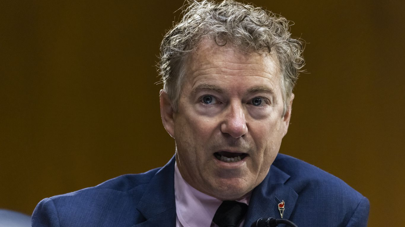 Rand Paul says he won't get COVID-19 vaccine