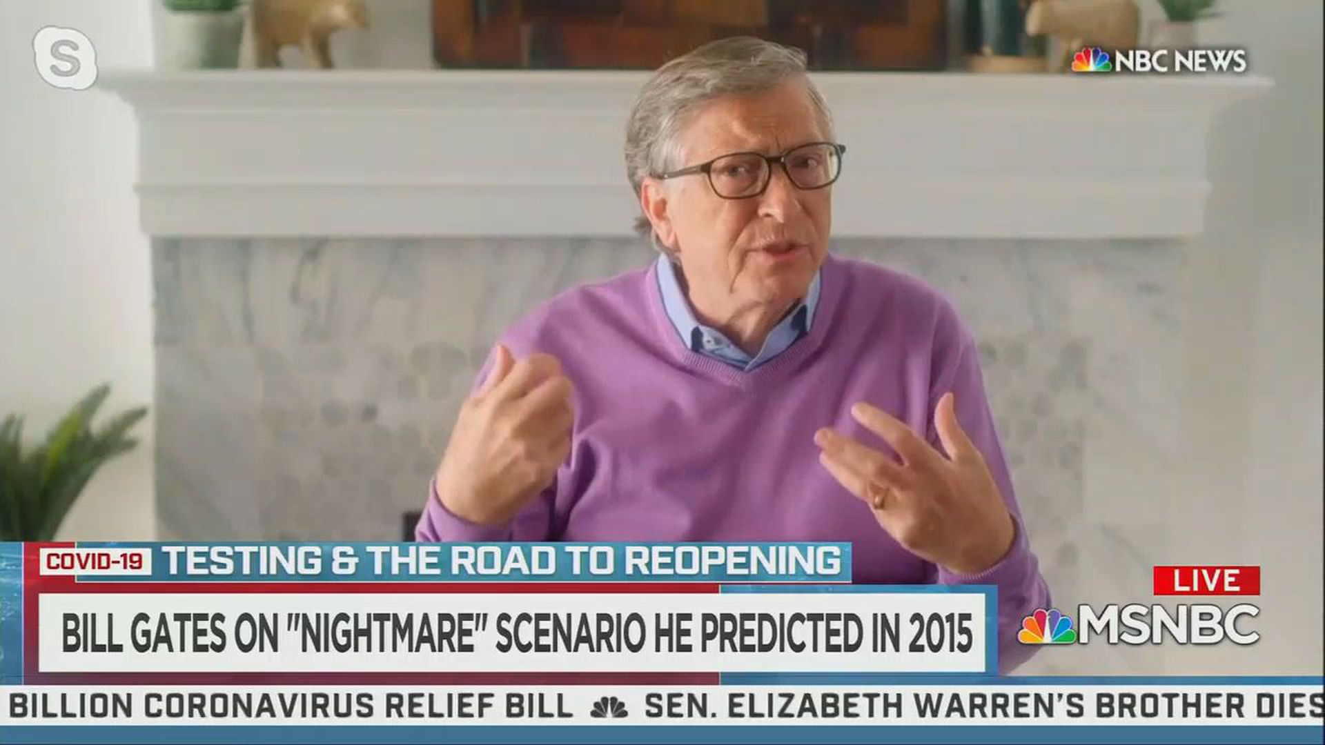 Bill Gates Brutal Reality Check On The Coronavirus Reopening Axios
