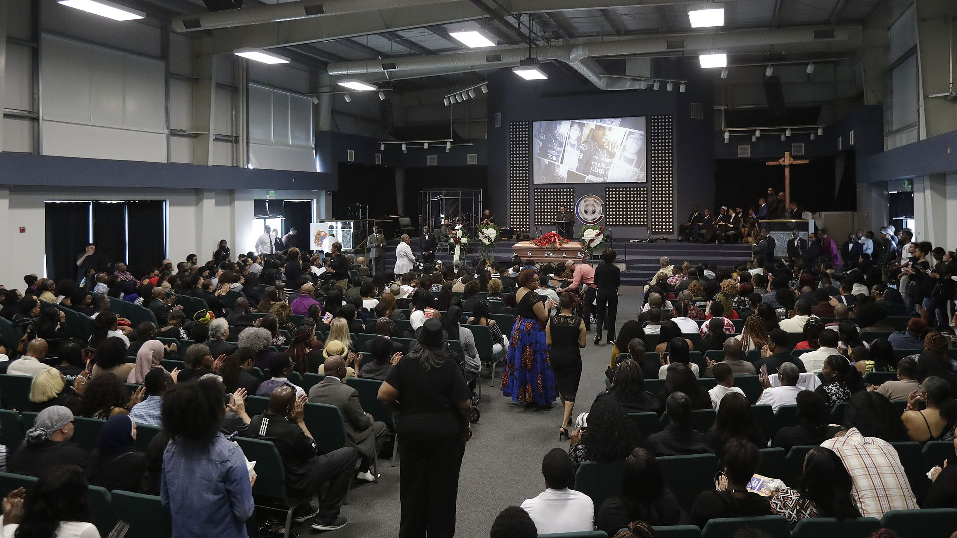 Funeral services for Stephon Clark