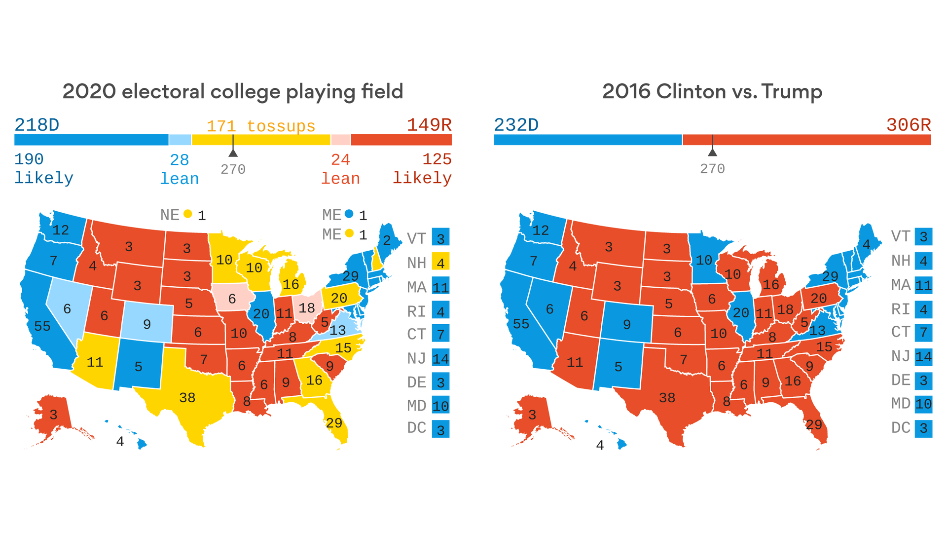 A presidential map for the 21st century - Axios