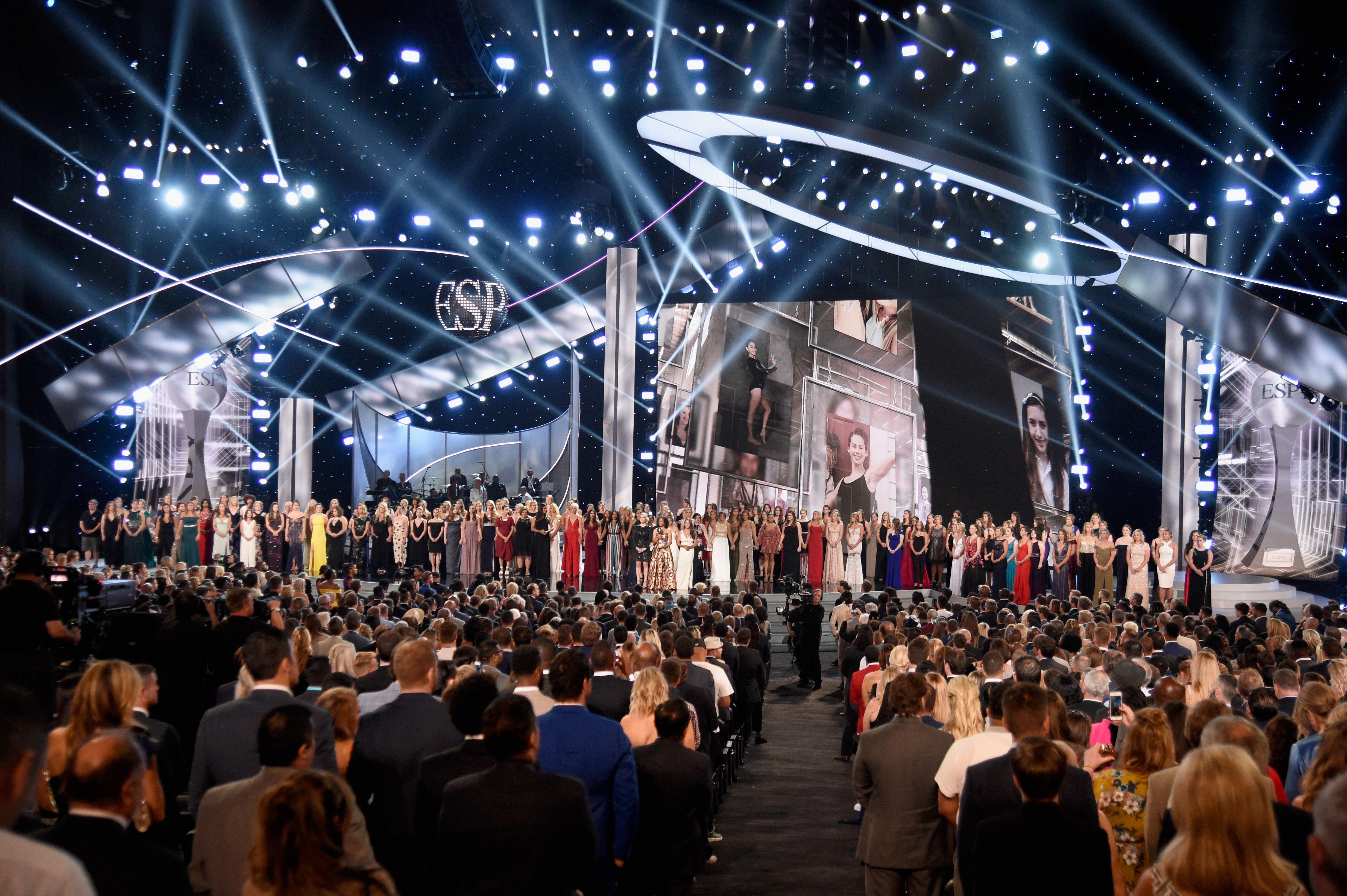Nassar victims at ESPY Awards