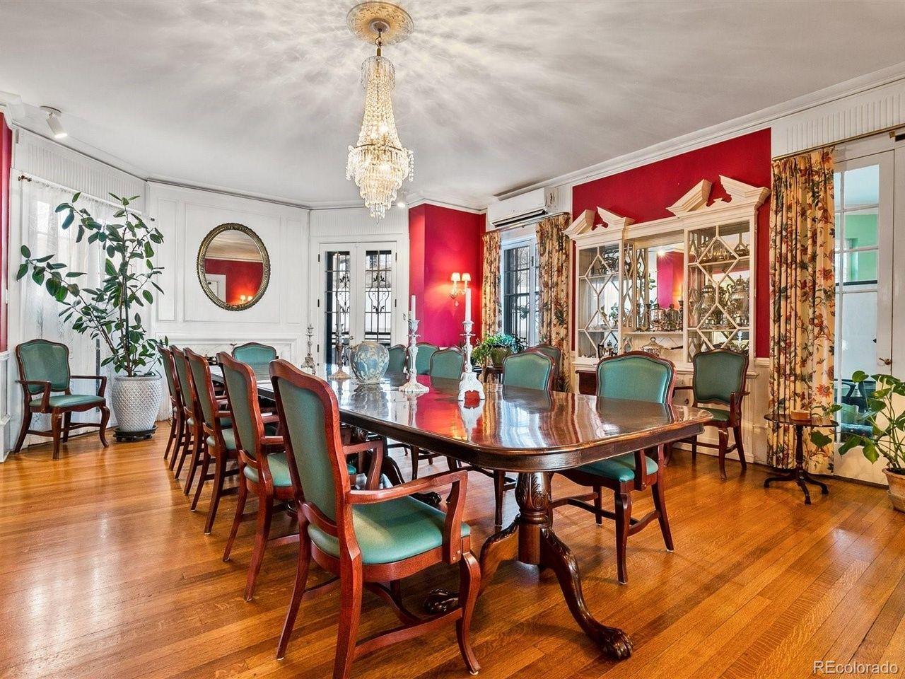 1350 N. Logan St dining room
