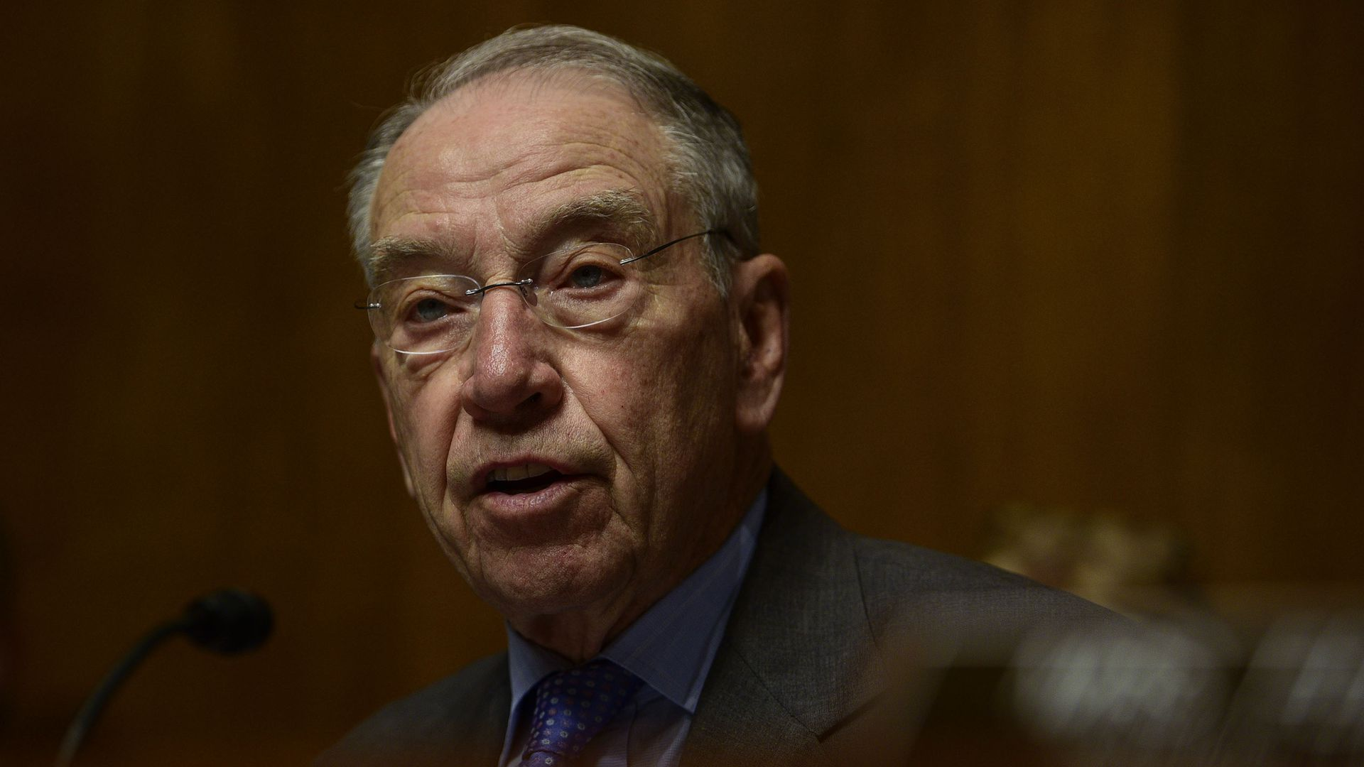 Sen. Chuck Grassley (R-IA), chairman of the Senate Judiciary Committee. Photo: Leigh Vogel/WireImage