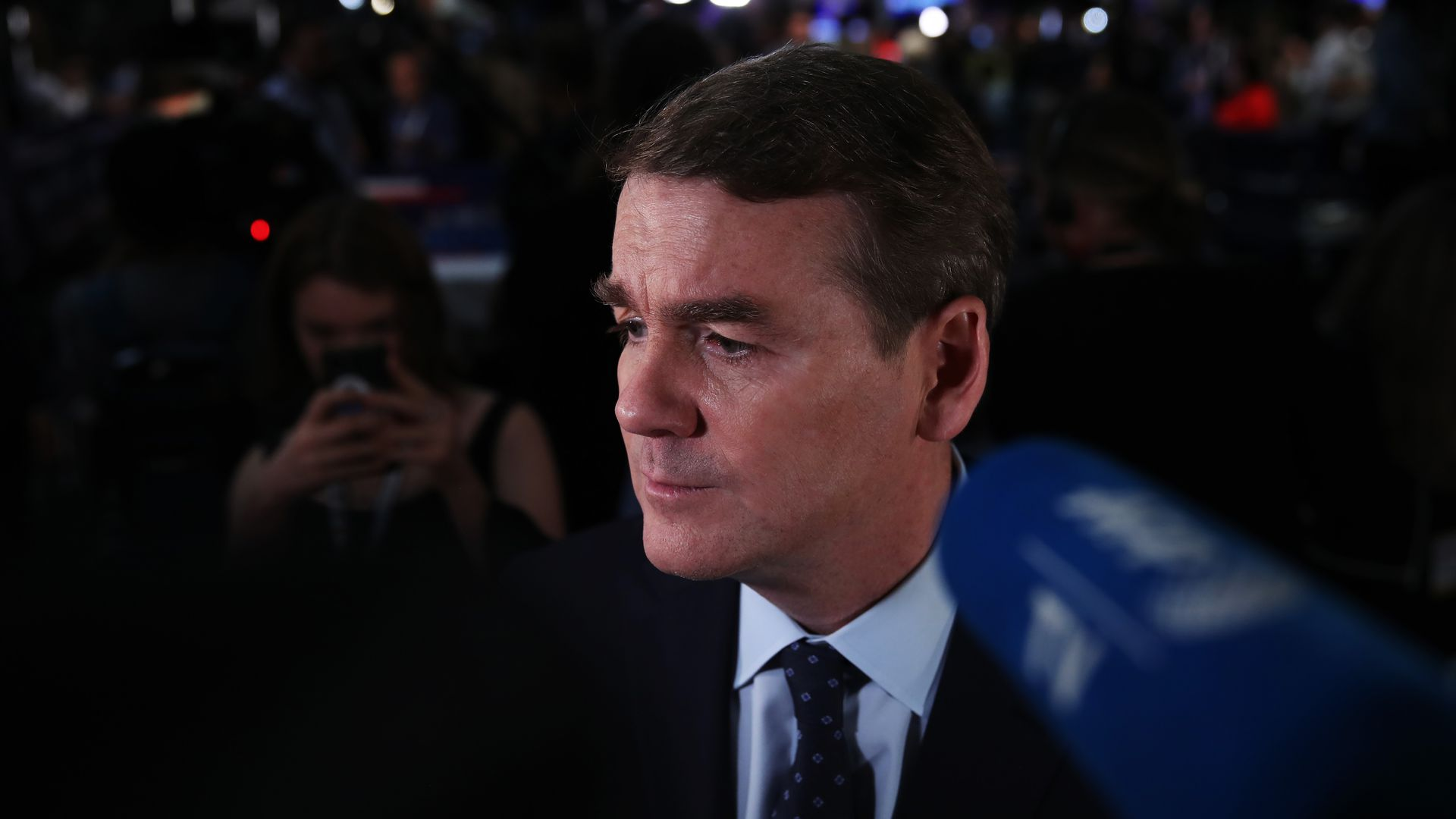 Sen. Michael Bennet (D-Col.) following the first round of 2020 Democratic primary debates.