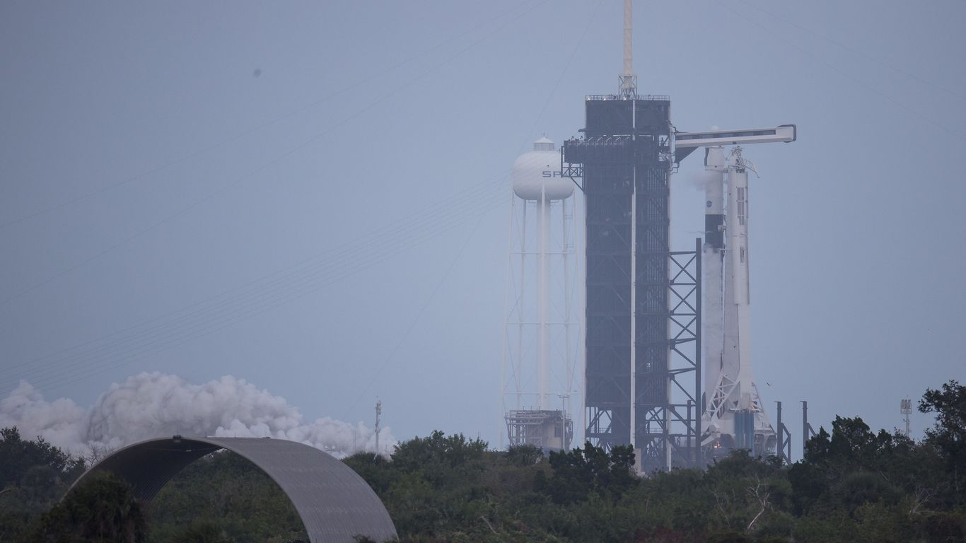 Watch as SpaceX launches a new crew to orbit for NASA