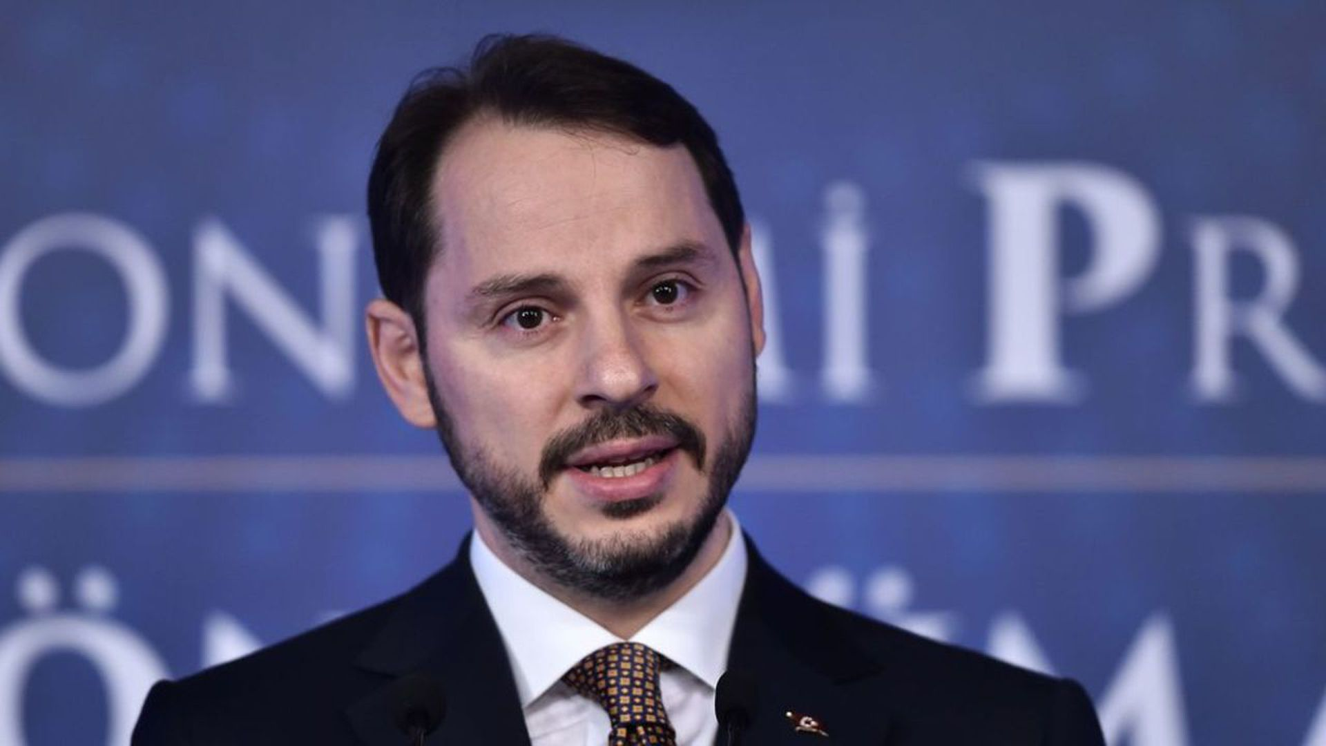 Berat Albayrak. Photo: Ozan Kose/AFP/Getty Images